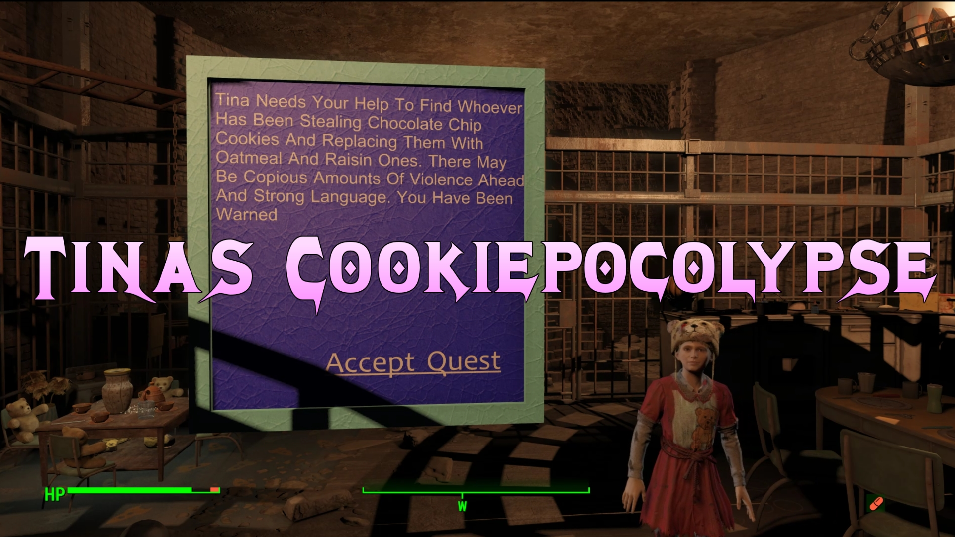 Tinas Cookiepocolypse -AKA DDProd All In One plus Quest