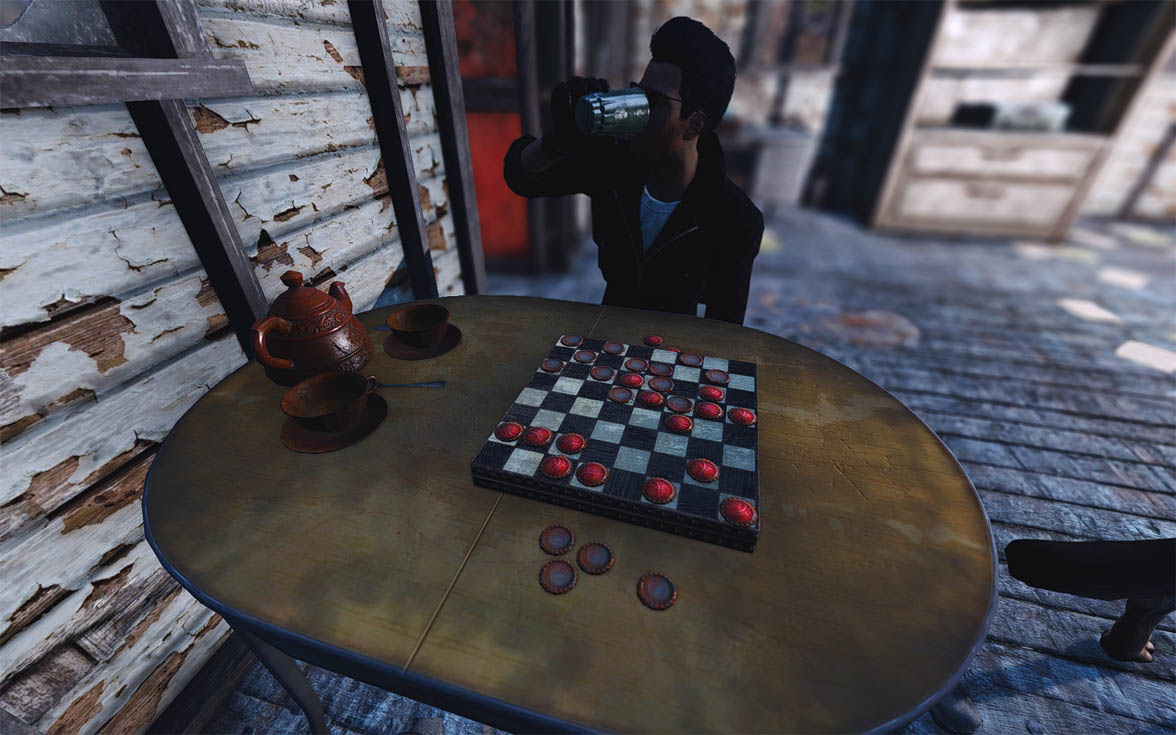 Dino 39 s decorations clutter arrangements for your for Fallout 4 decorations