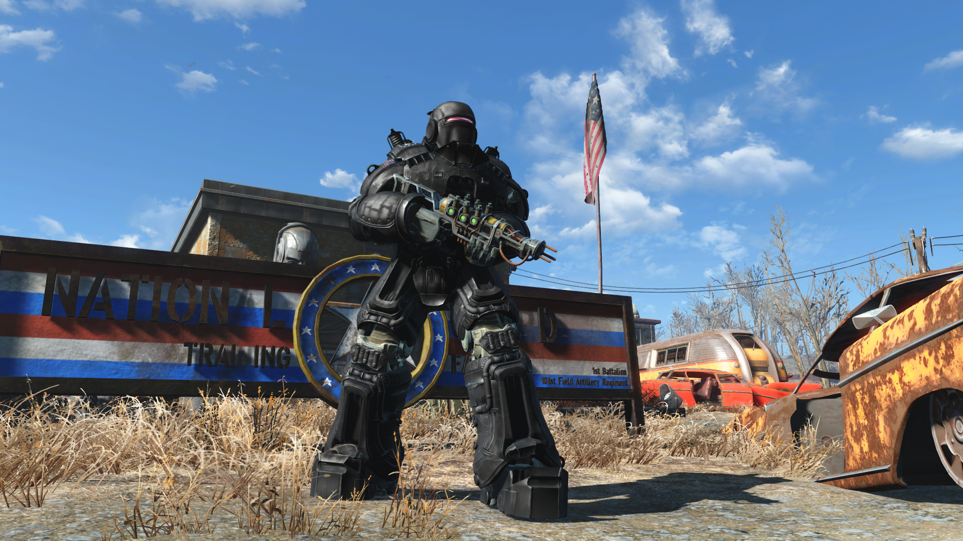 Image result for Liberty Power Armor fallout 4 mods