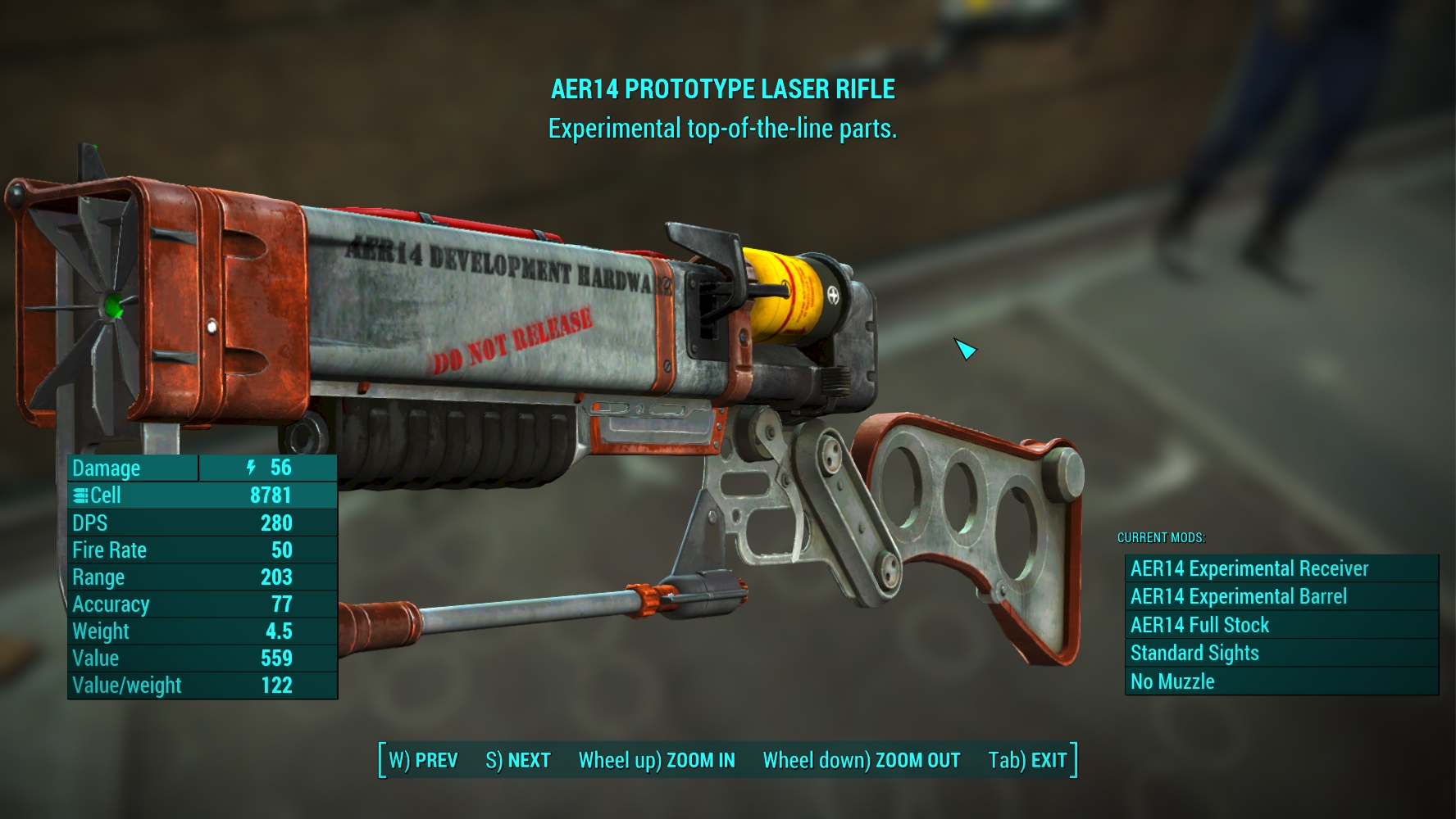 ransero s laser gun expanded at fallout 4 nexus mods and community