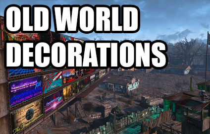 Old world decorations at fallout 4 nexus mods and community for Fallout 4 decorations