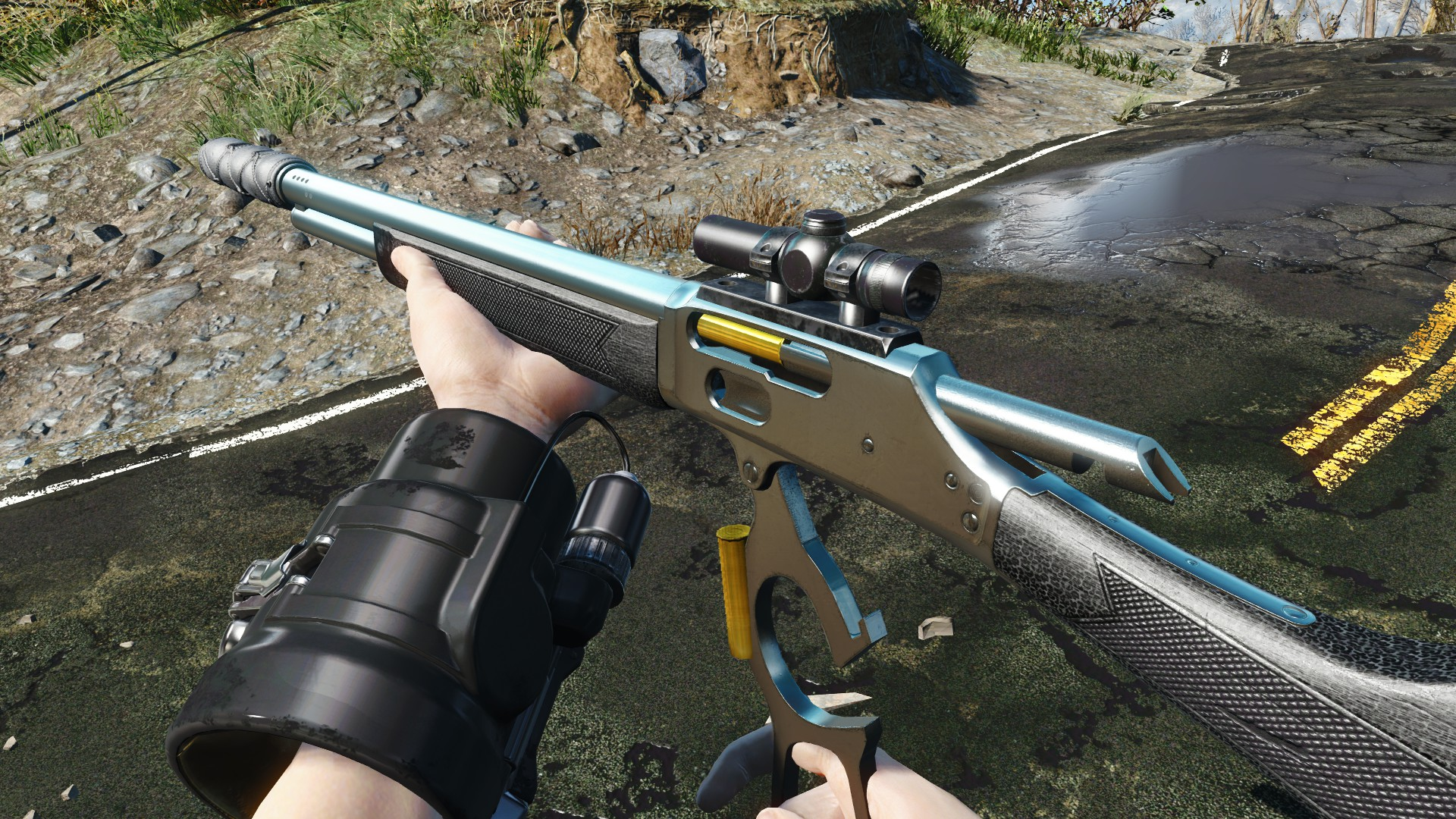 Lever-Action Rifle Customization at Fallout 4 Nexus - Mods