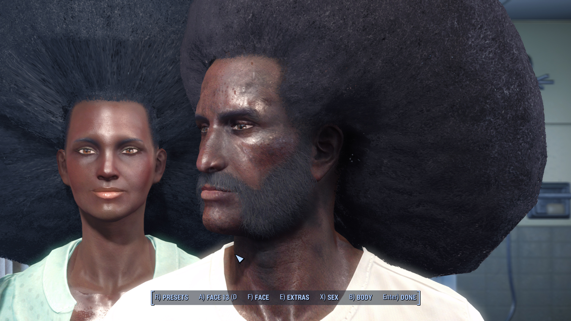 Soul Survivor Reloaded Immersive Afro Hair Redux At Fallout 4