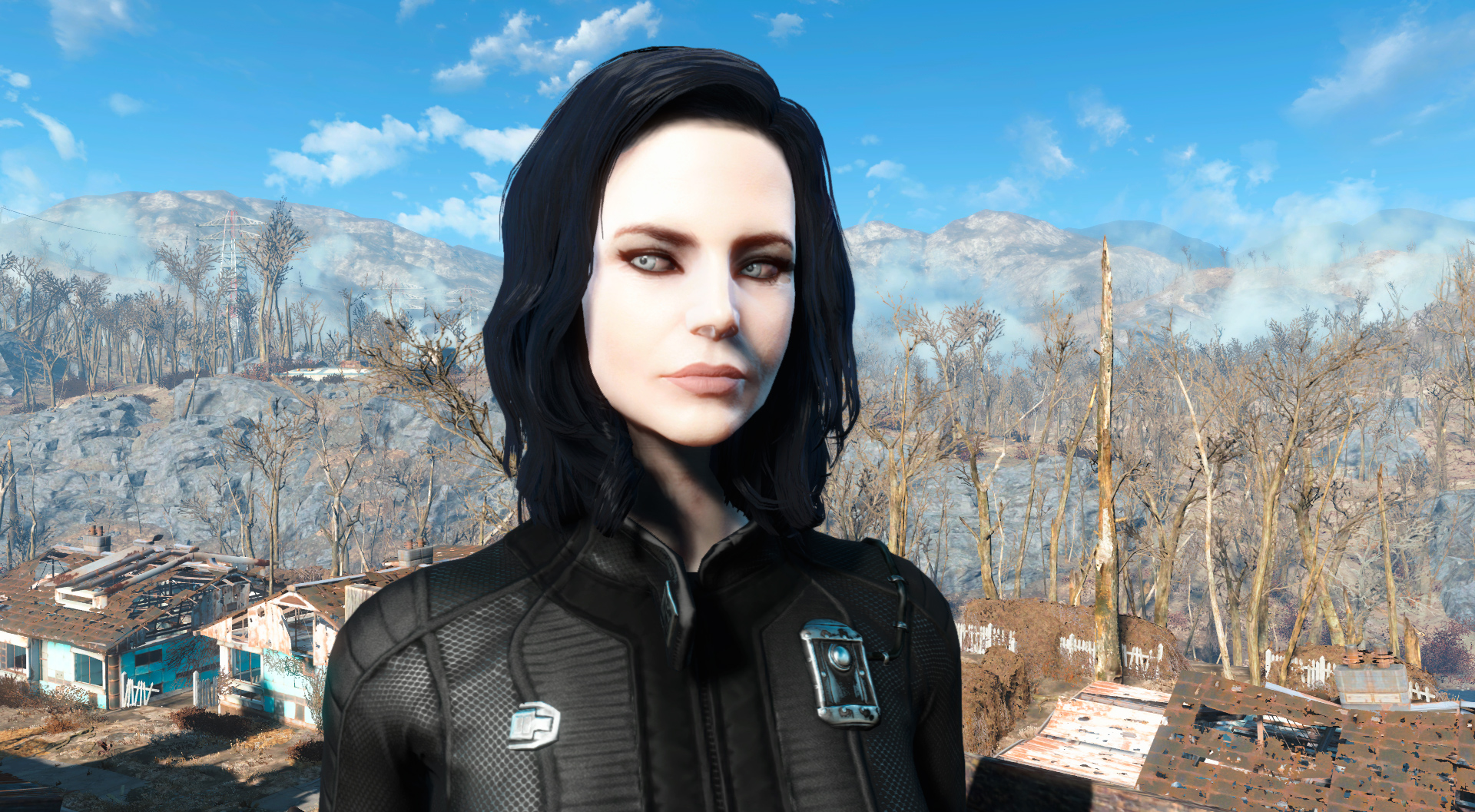 Selene (Pale Skin - Eyes - Vault Suit) at Fallout 4 Nexus - Mods and