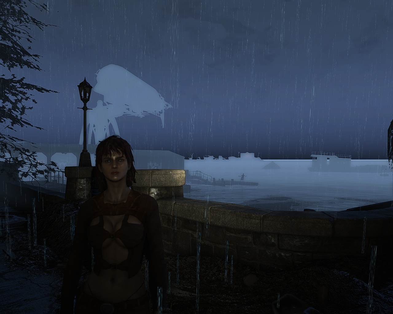 ENB ISSUES (DISTANT OBJECTS ARE DISCOLORED DURING WEATHERS