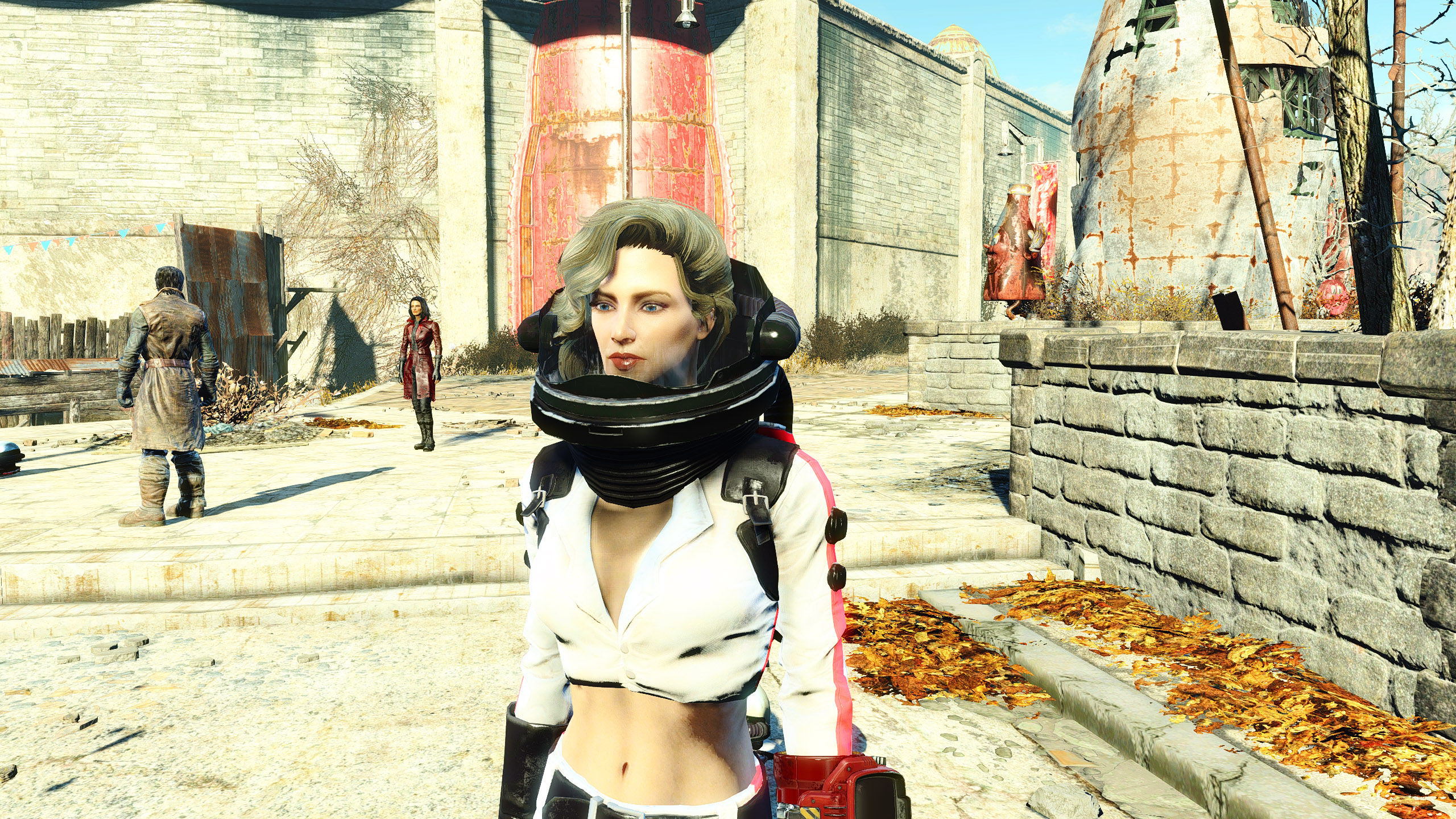 CBBE- Functional Nuka-Girl Suit with No Helmet Options -AWKCR ...