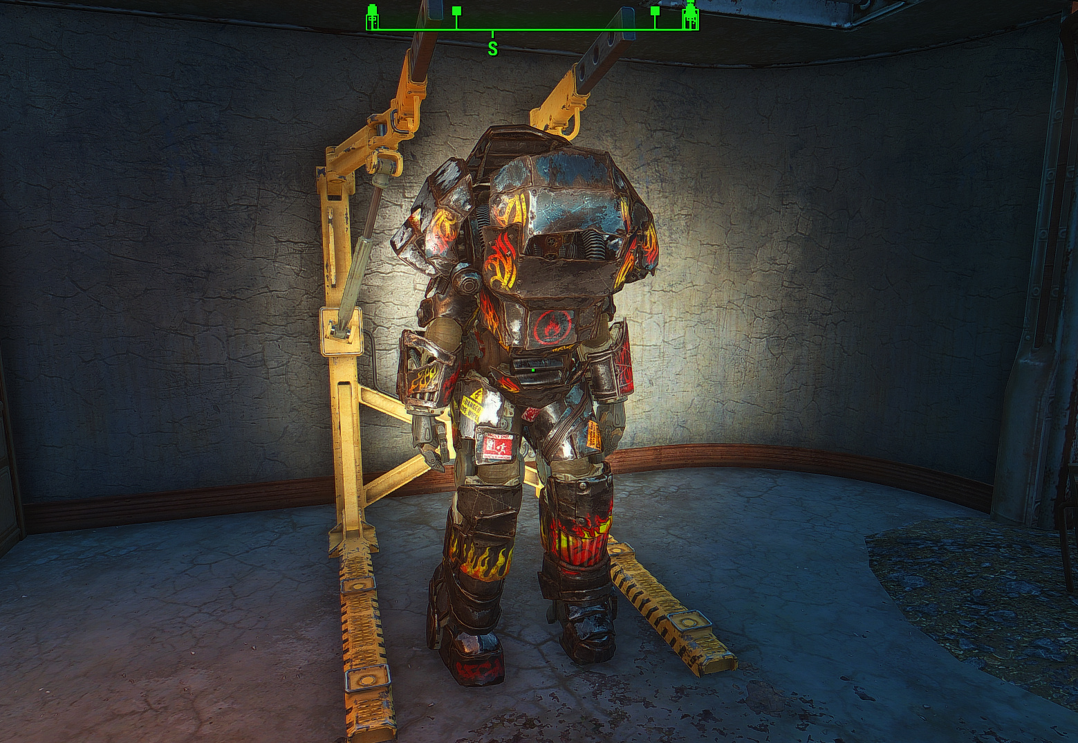 Fallout 4 overboss power armor