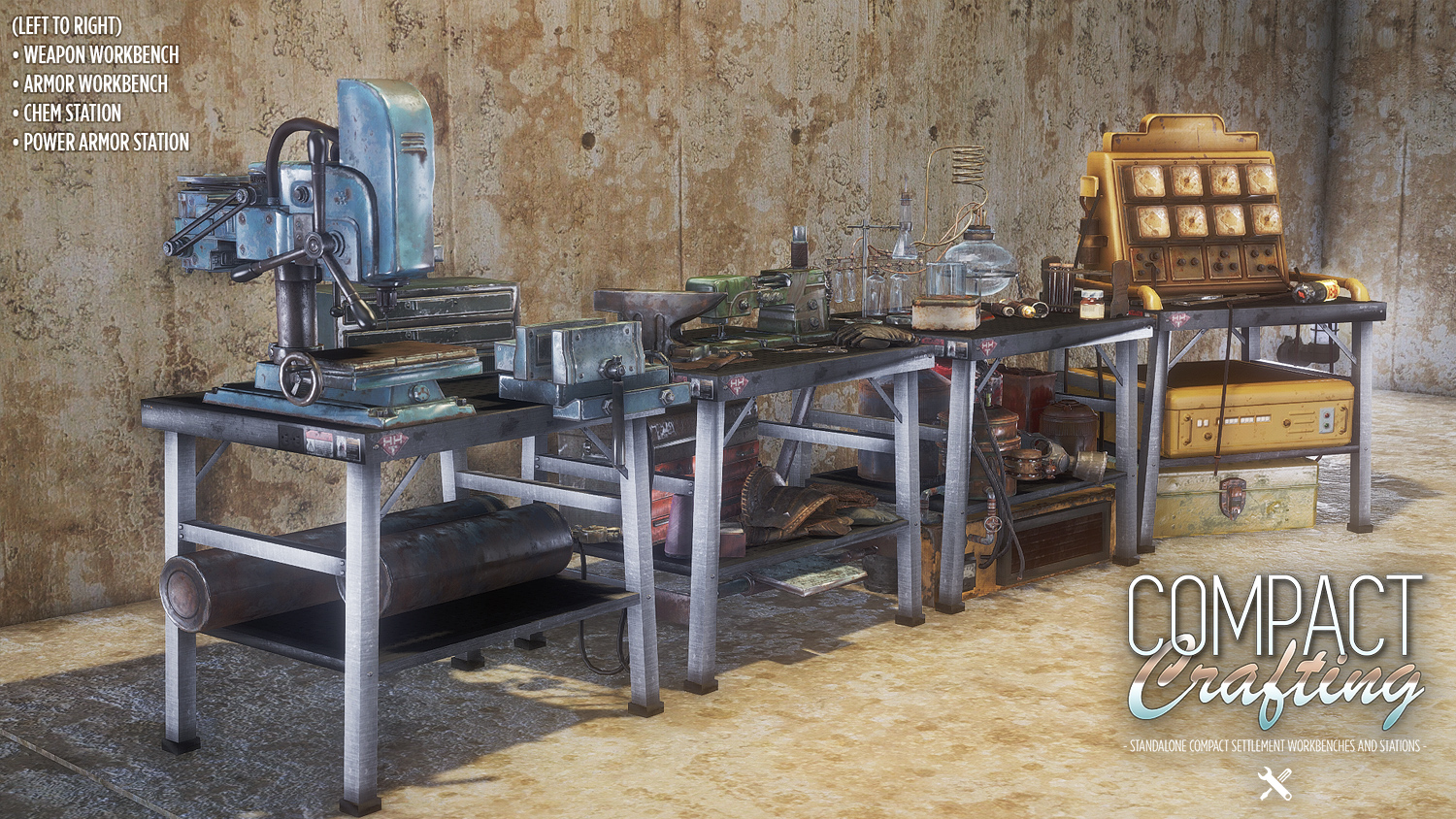 Fallout  Crafting Stations