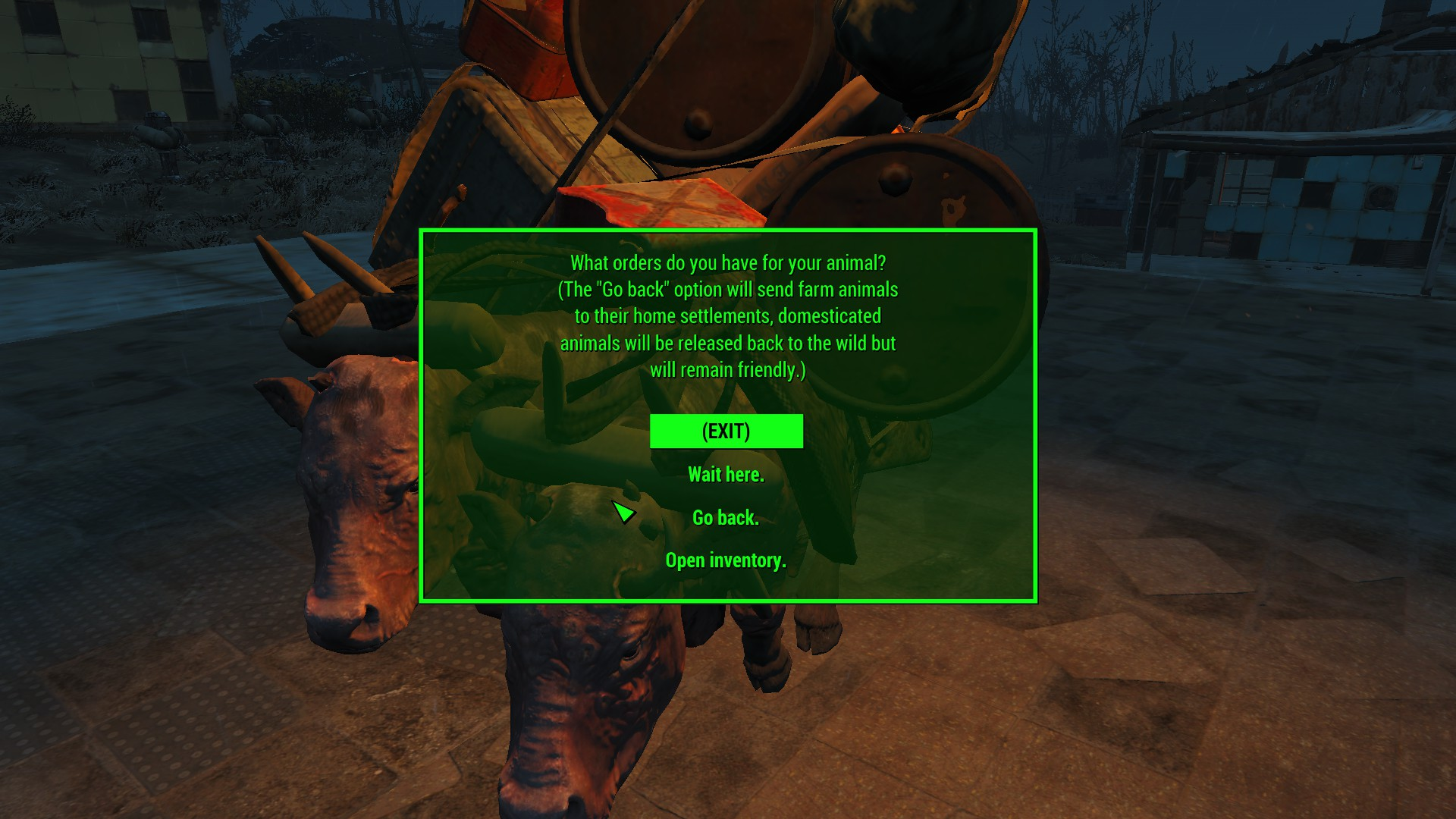 Ironman Survival Overhaul At Fallout 4 Nexus Mods And Community