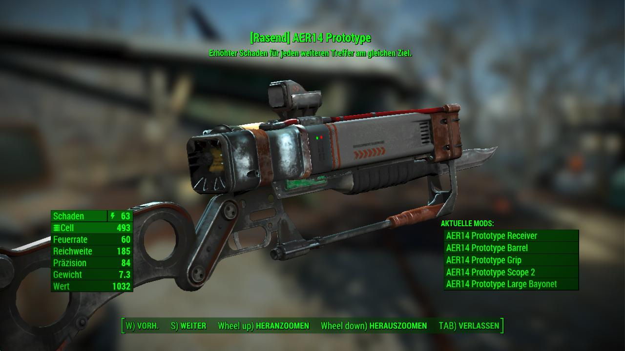 aer14 prototype at fallout 4 nexus mods and community
