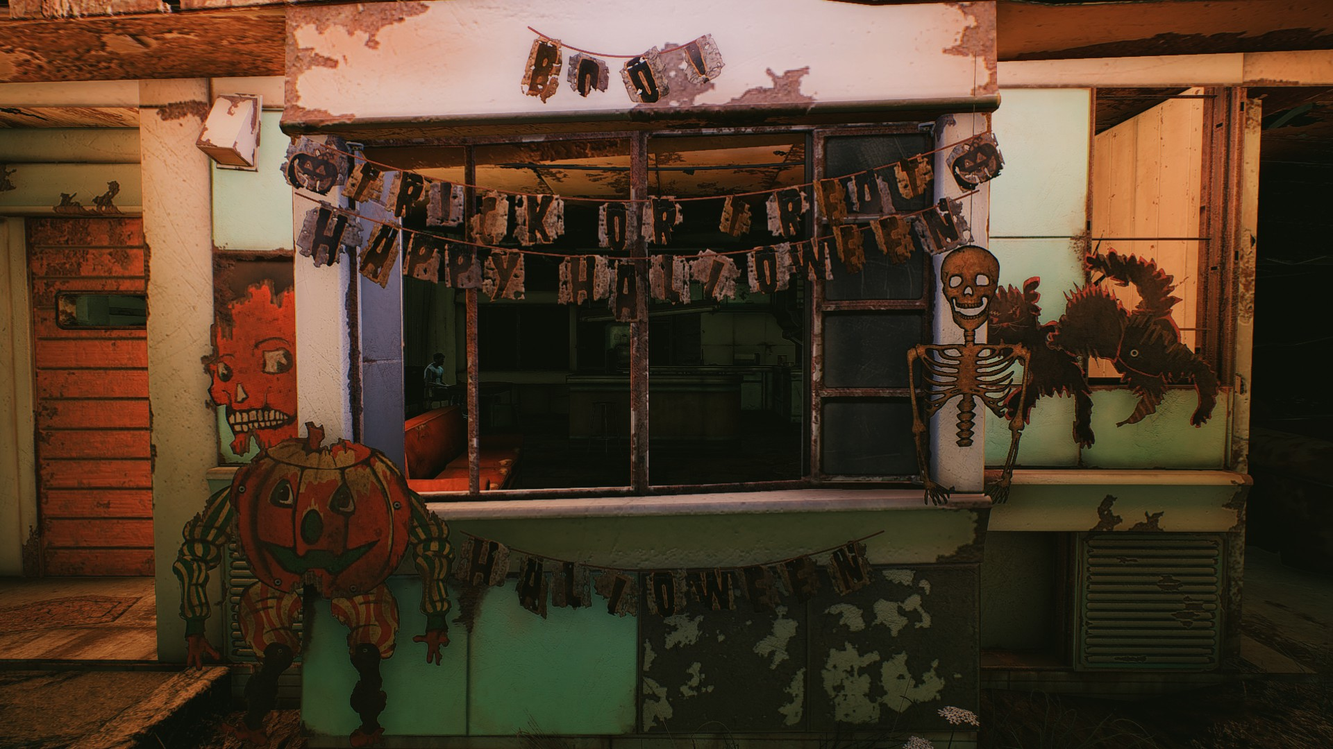 Craftable halloween decorations at fallout nexus mods