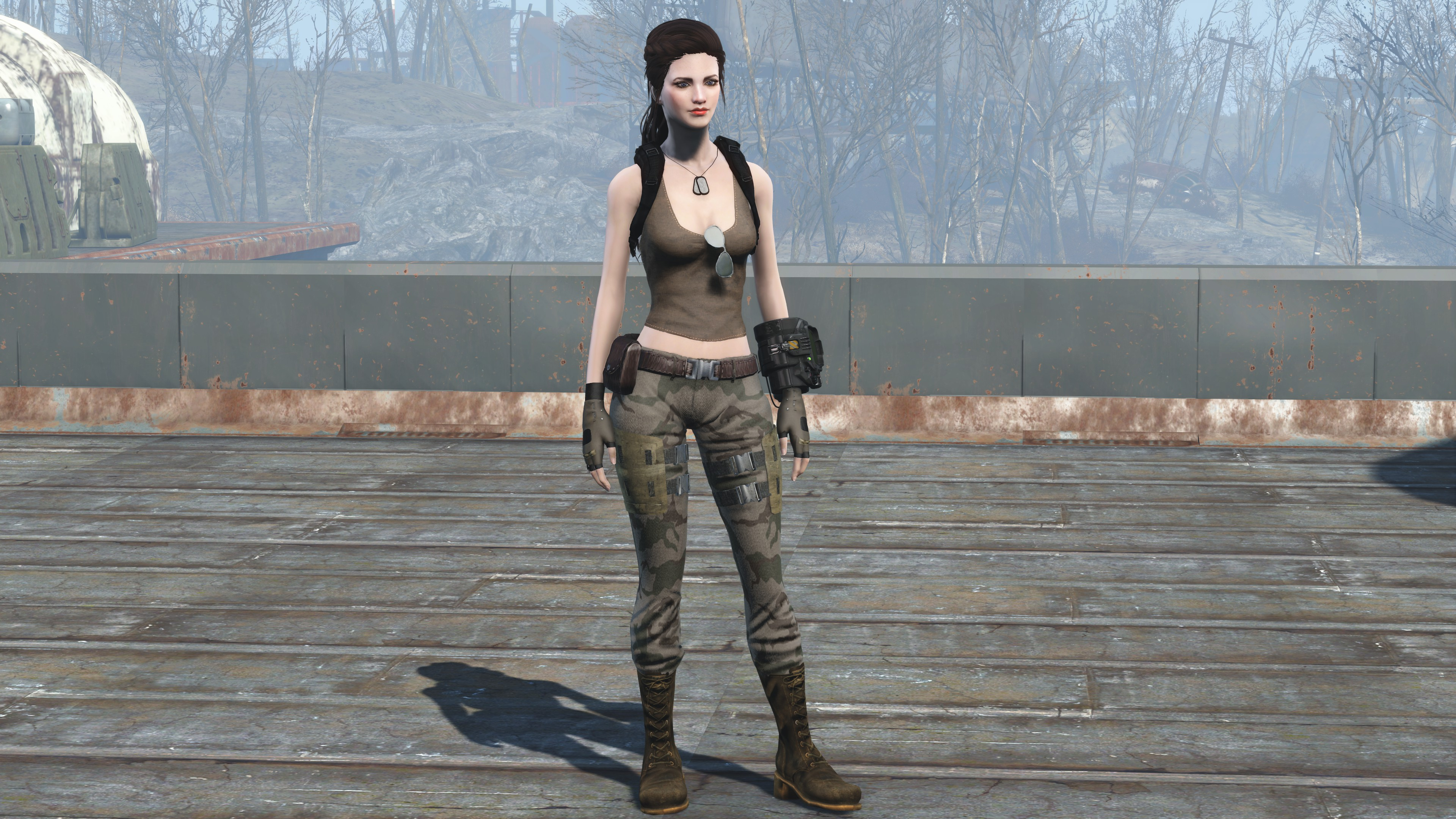 Military Outfit - CBBE at Fallout 4 Nexus - Mods and community