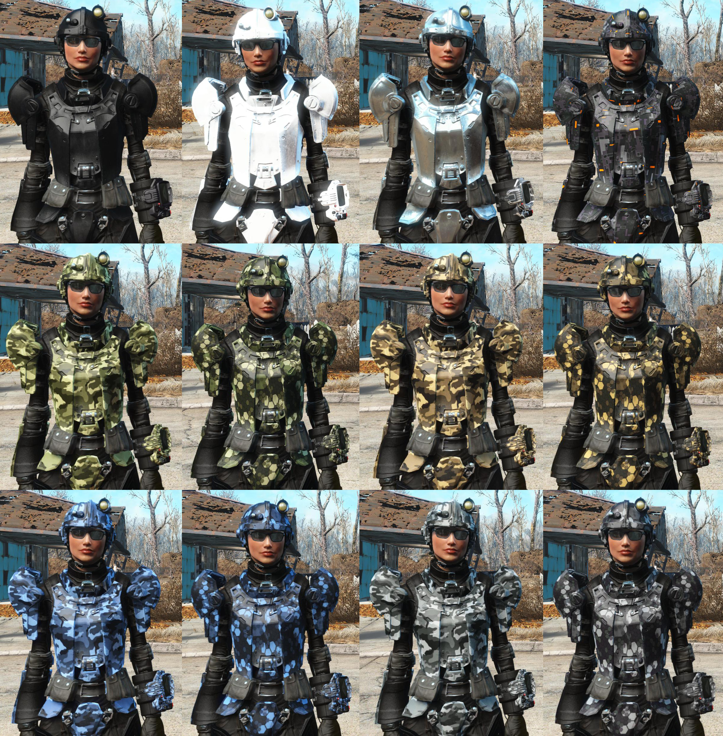 Sf Combat Armor And Jetpack At Fallout 4 Nexus Mods And