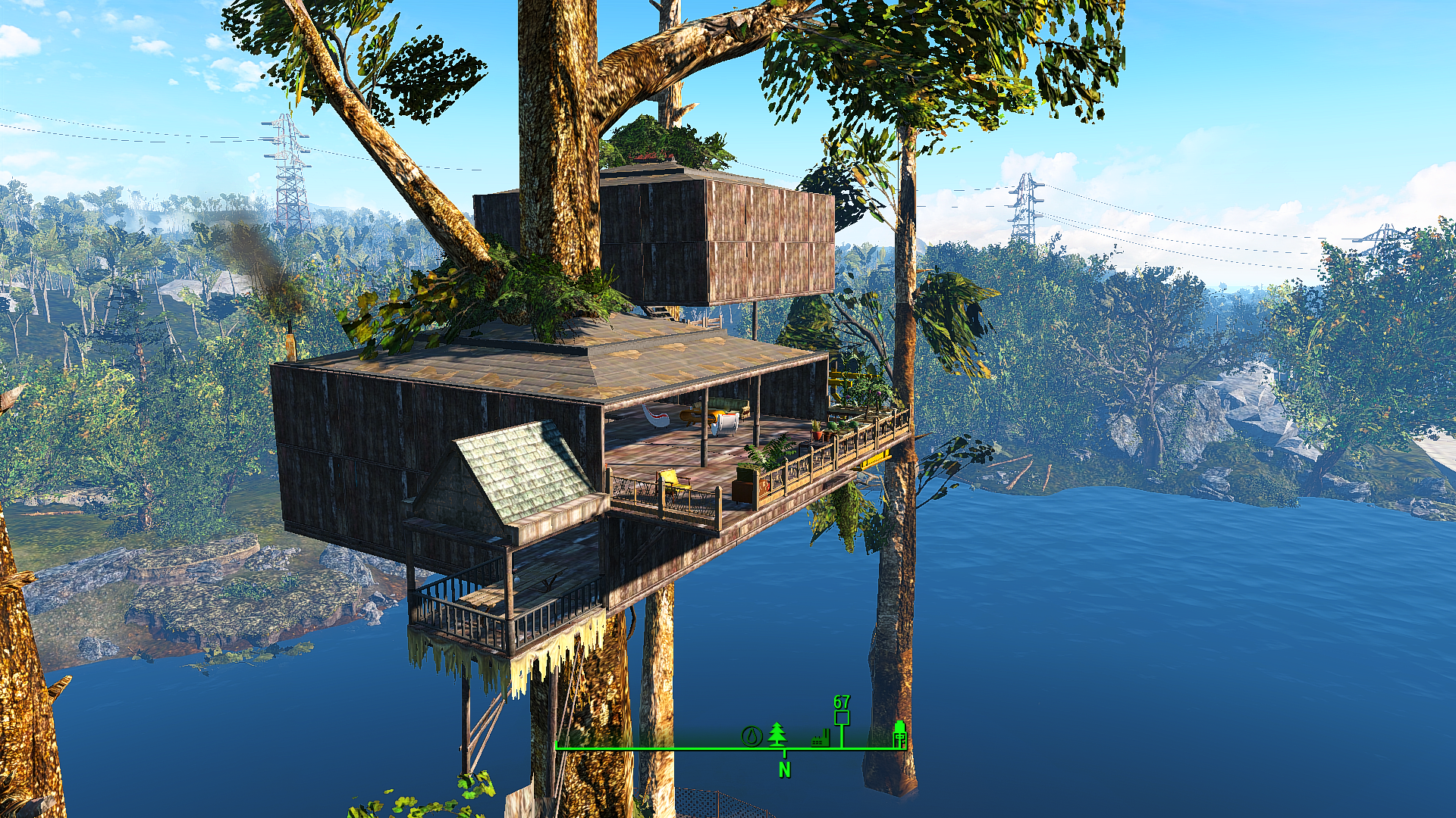 tree house player home at fallout 4 nexus mods and community - Treehouse Masters Mirrors