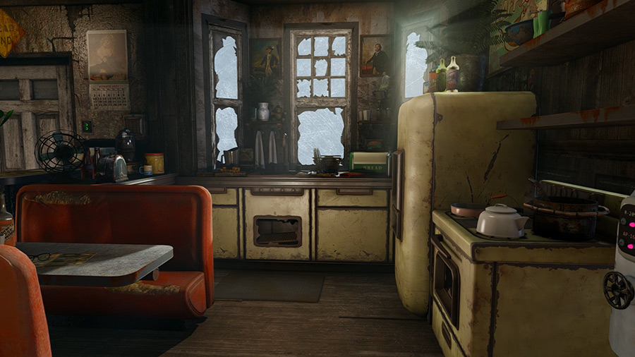 Cambridge bungalow player home at fallout 4 nexus mods for Best house design fallout 4