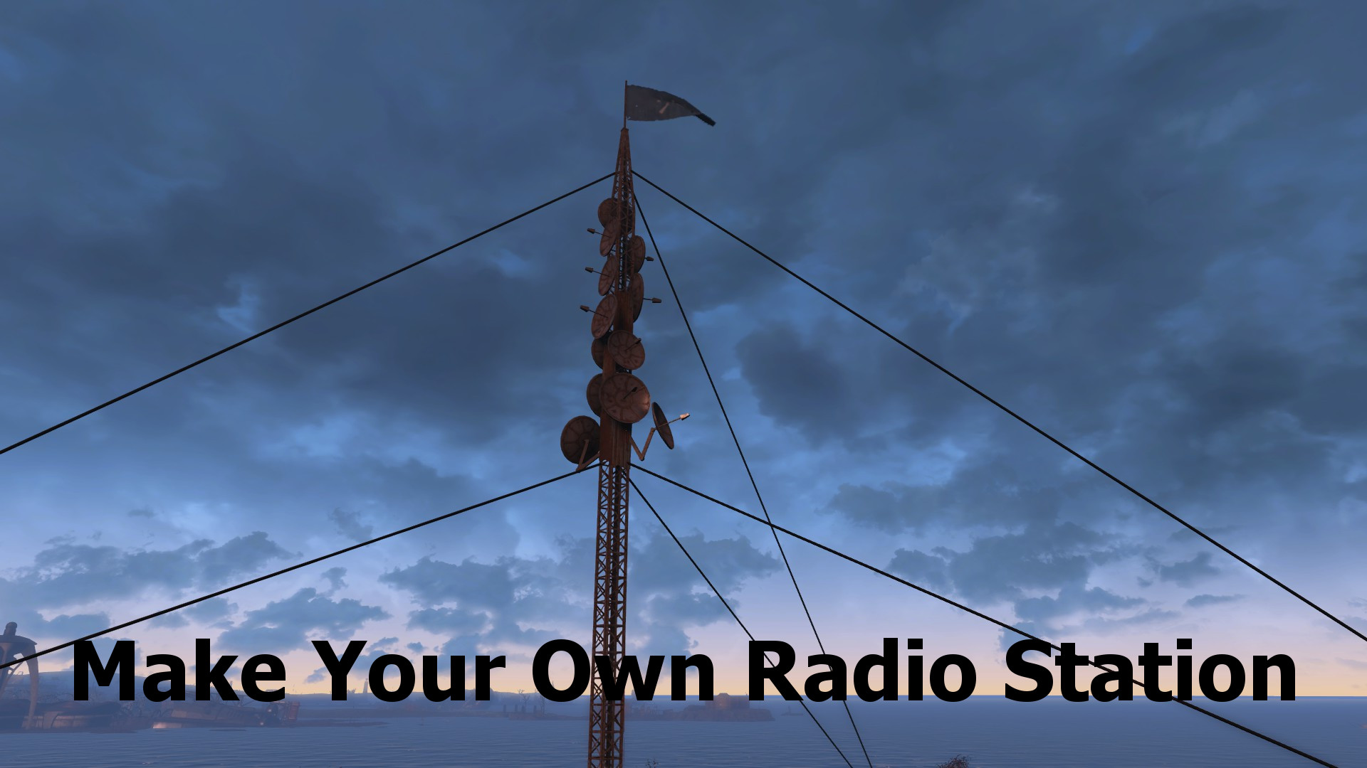 how to add your own radio station to fallout 3