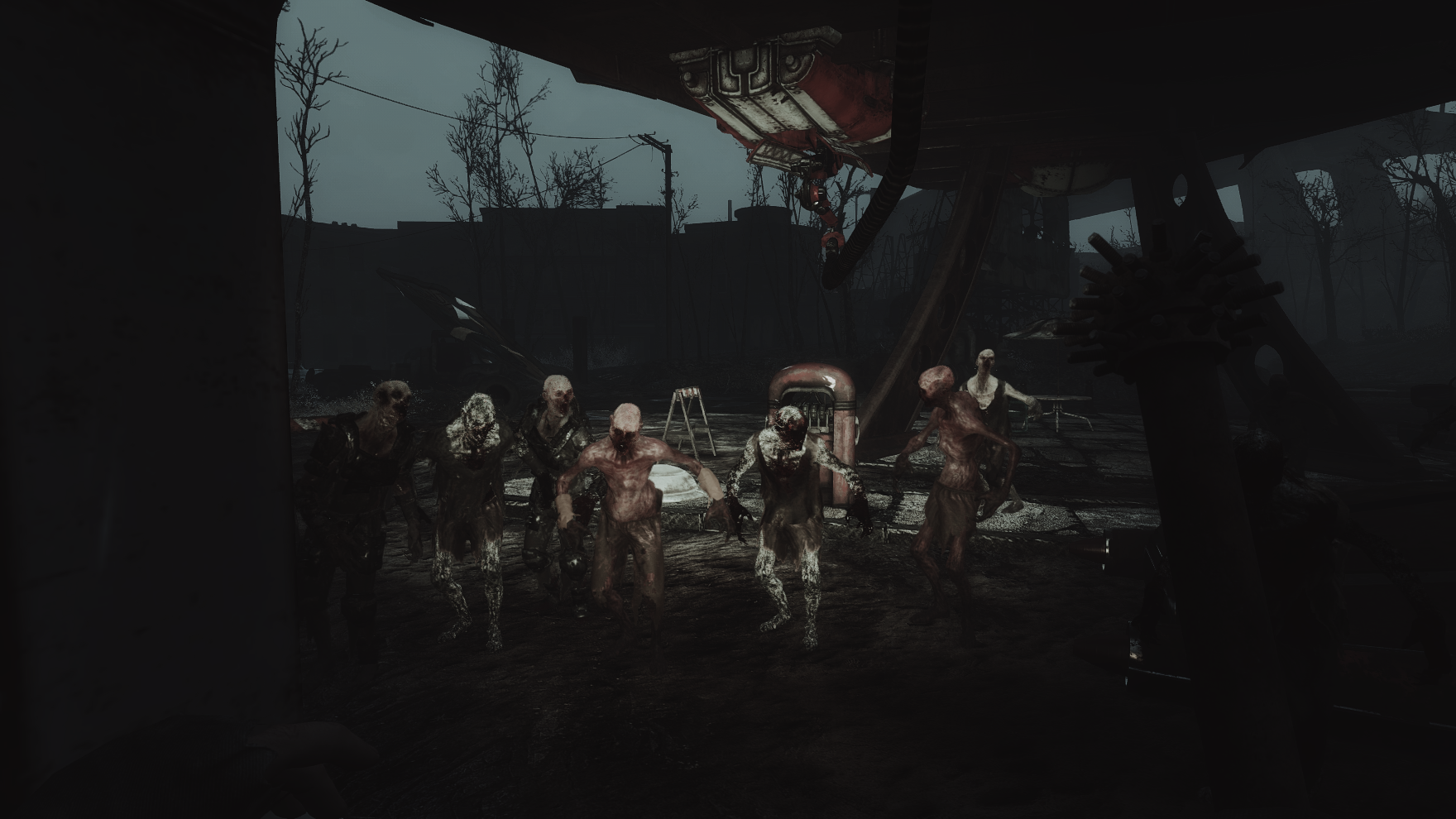 Zombie Walkers At Fallout 4 Nexus Mods And Community