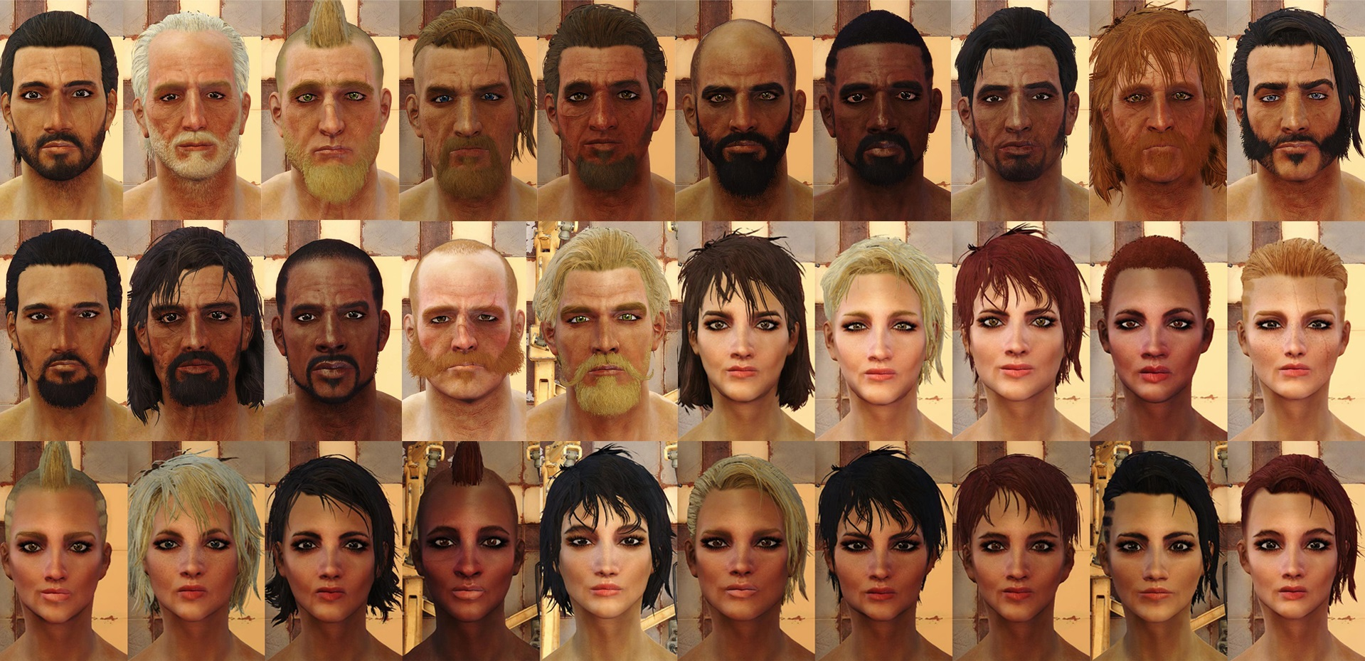 Lots Of Hair Barbers Extension At Fallout 4 Nexus Mods And Community