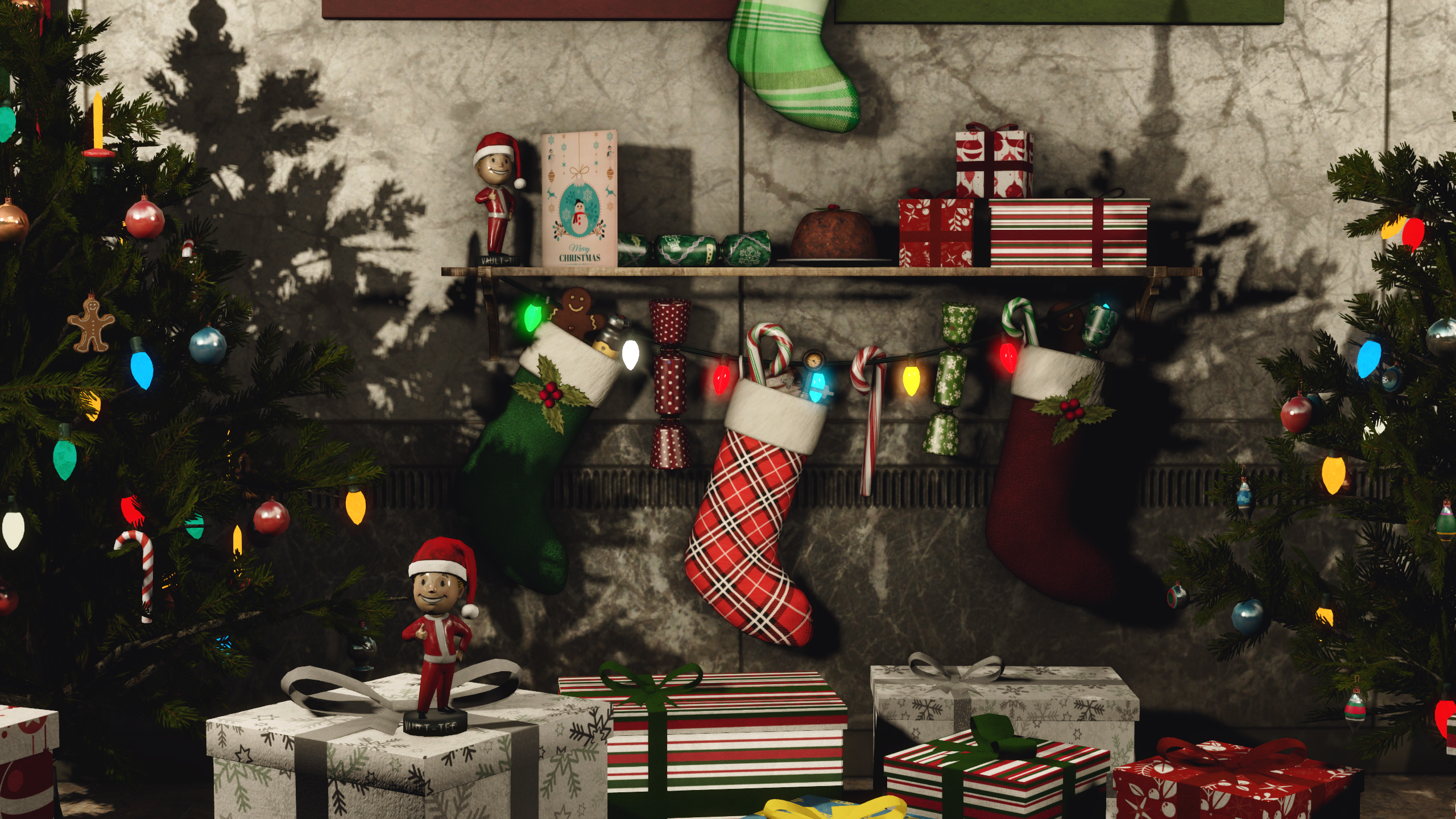 The Christmas Mod at Fallout 4 Nexus - Mods and community