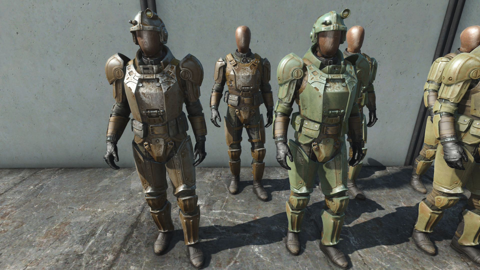 Fallout  Power Armor Paint Colors