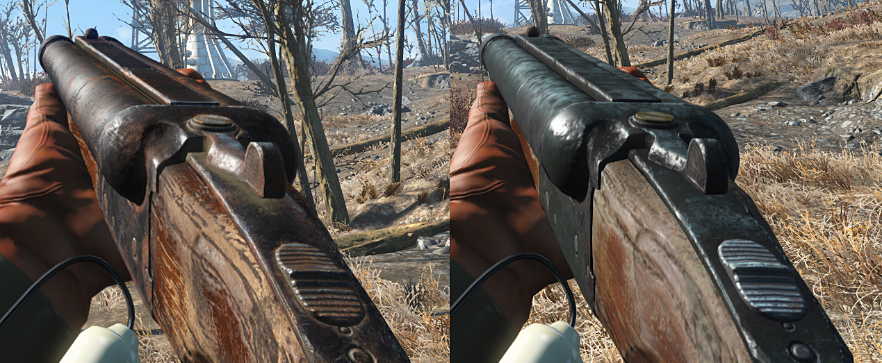 Fallout 4 retextures [WIP & REL] — polycount