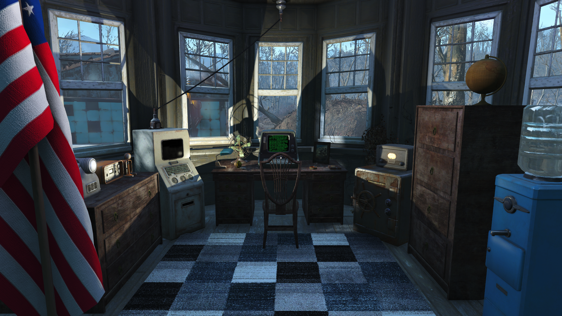 Desk Lamps Of The Commonwealth Dlc At Fallout 4 Nexus