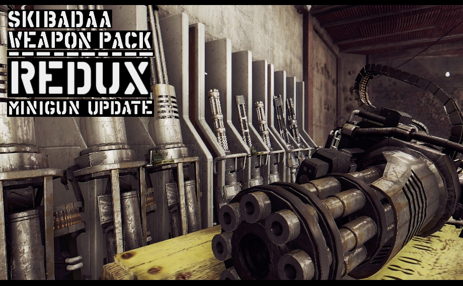 Skibadaa Weapon Pack REDUX at Fallout 4 Nexus - Mods and
