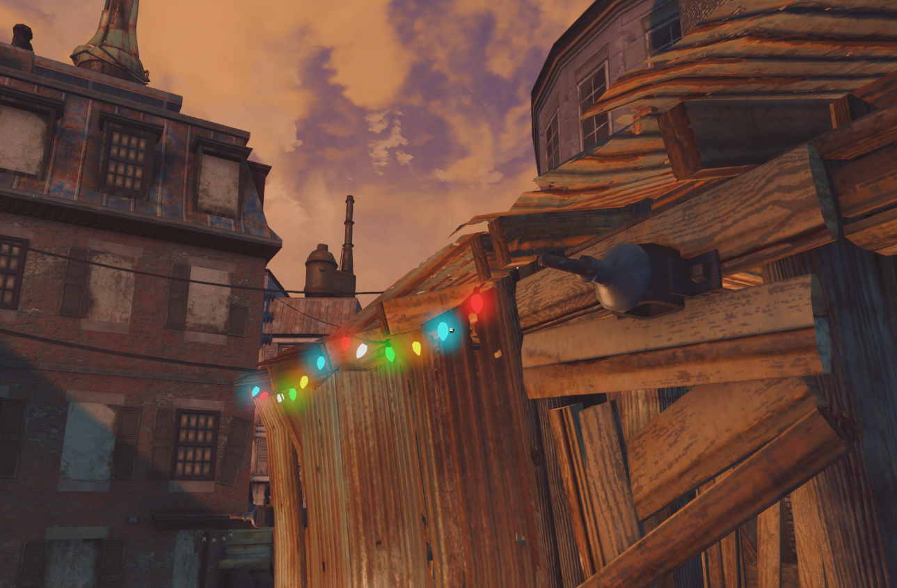 Christmas Lights at Fallout 4 Nexus - Mods and community