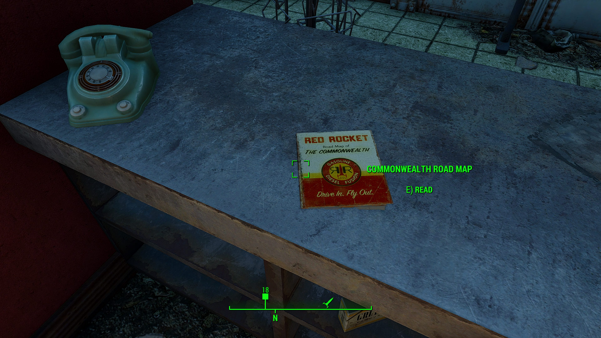 Road Map Of Project%0A Red Rocket Road Map Immersive Map Marker Enabling At Fallout