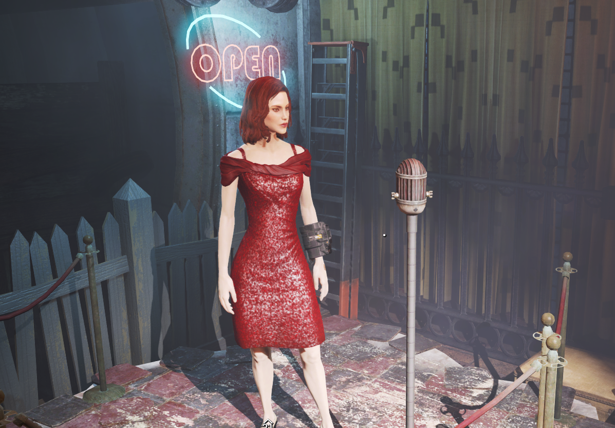 Sequin Dress Recolored at Fallout 4 Nexus - Mods and community