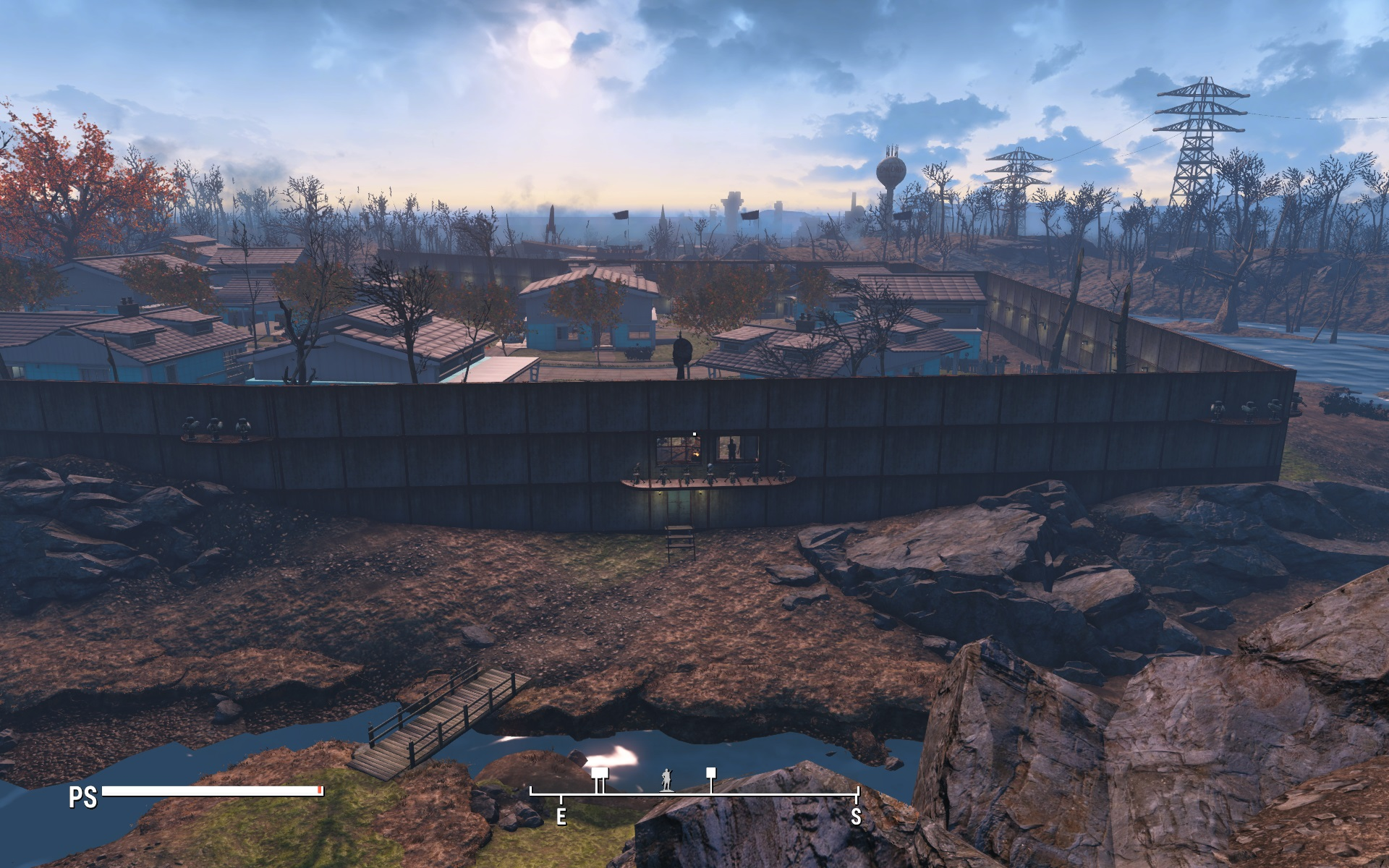 how to build concrete walls fallout 4