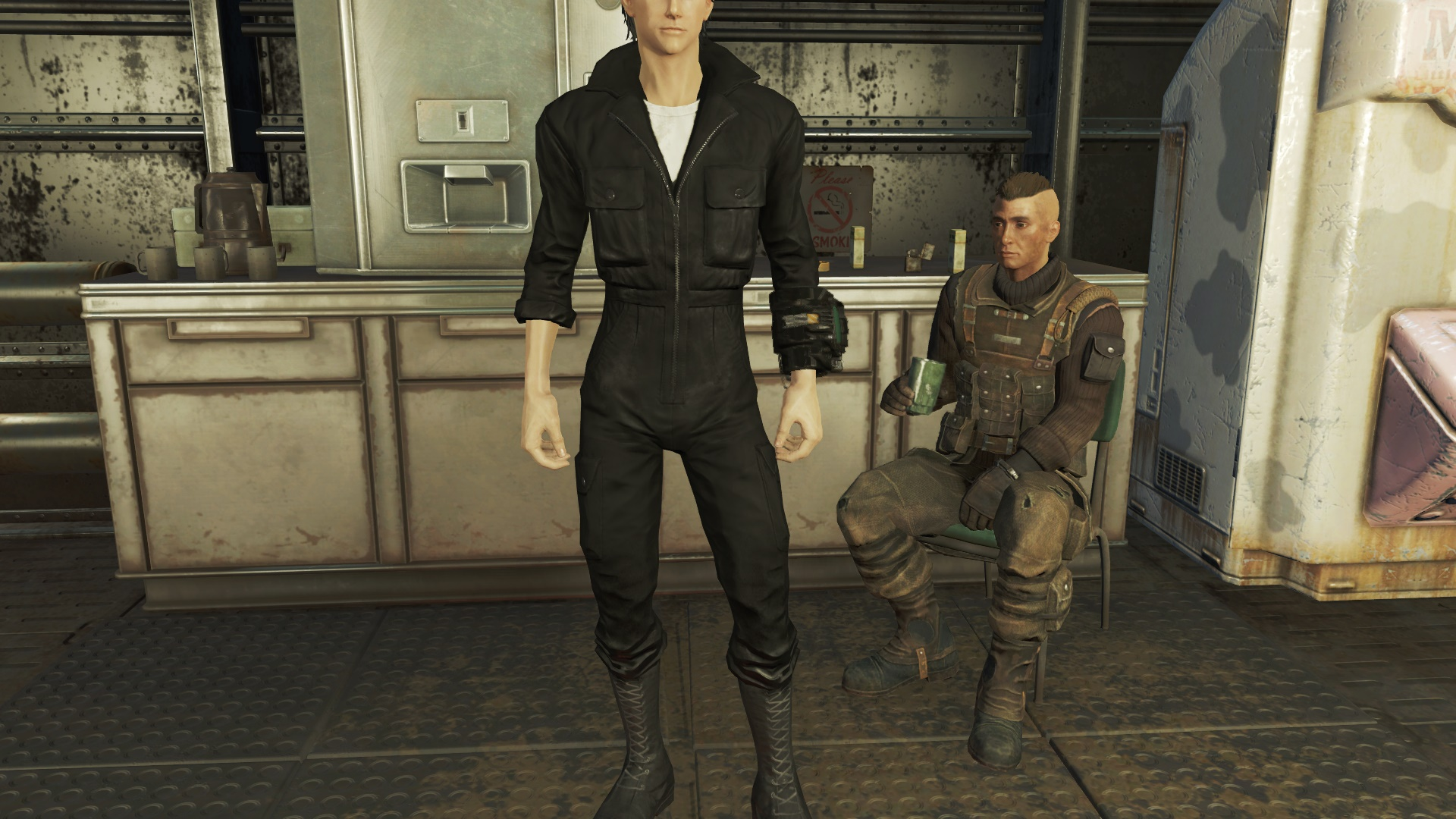 Vault Suits Recolors For Male And Female At Fallout 4