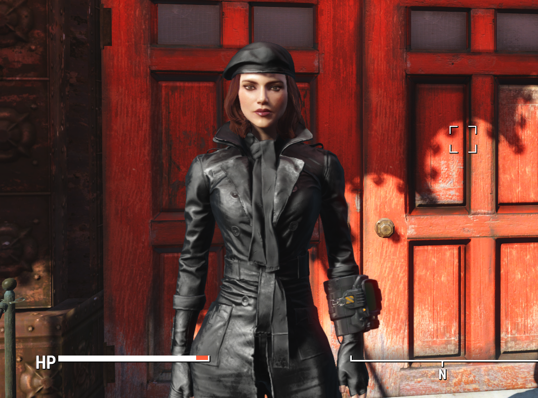 Pipers Trench Coat Retextures At Fallout 4 Nexus Mods