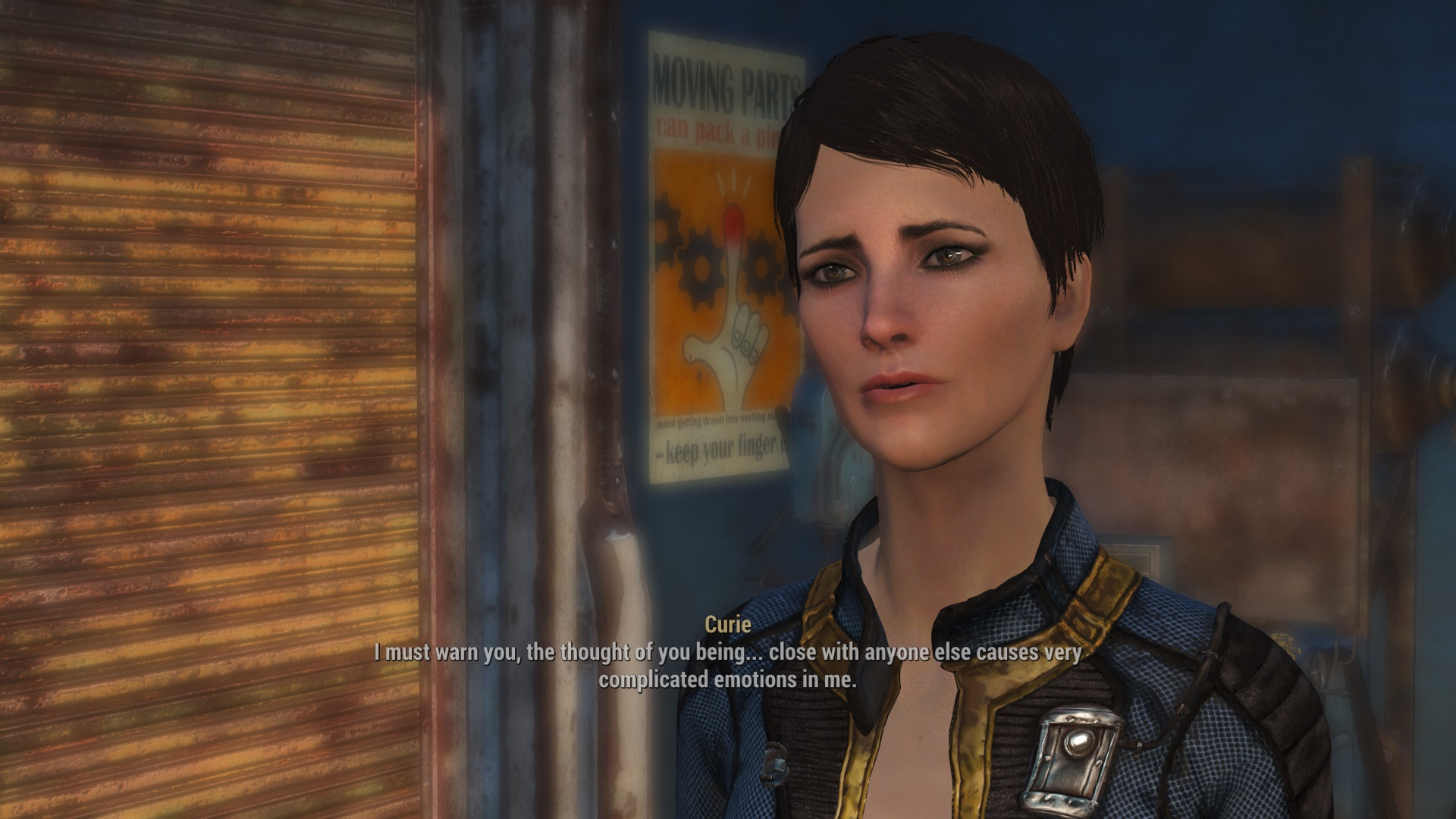 where is curie in fallout 4