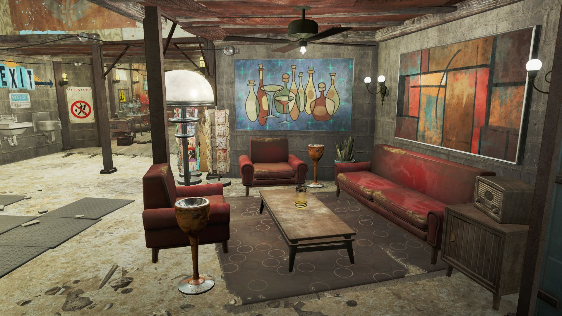 Awesome Scrap Yard Home Decorating Guide Fallout 4 Mods