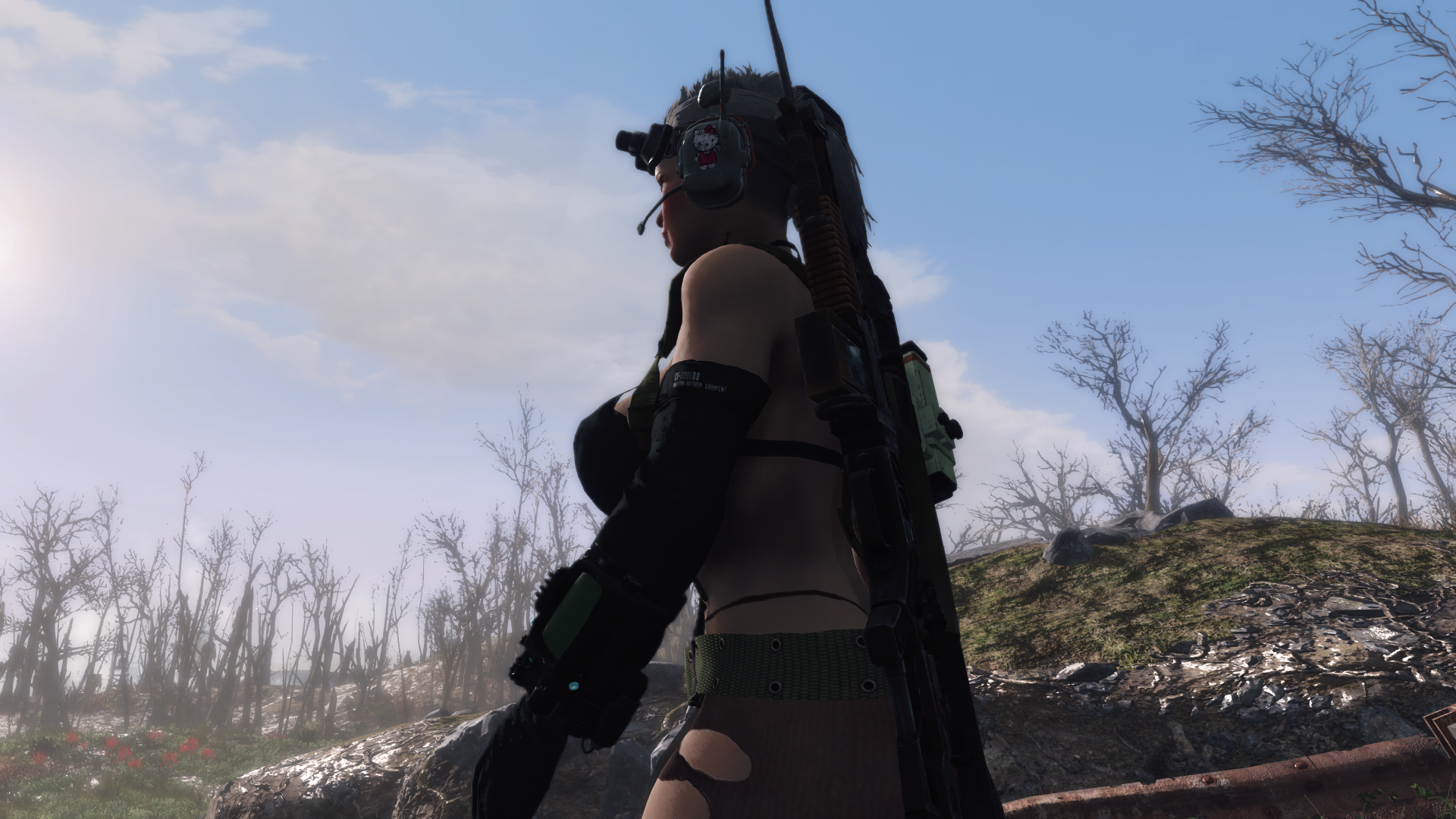 Quiet Outfit for Atomic Beauty at Fallout 4 Nexus - Mods ...