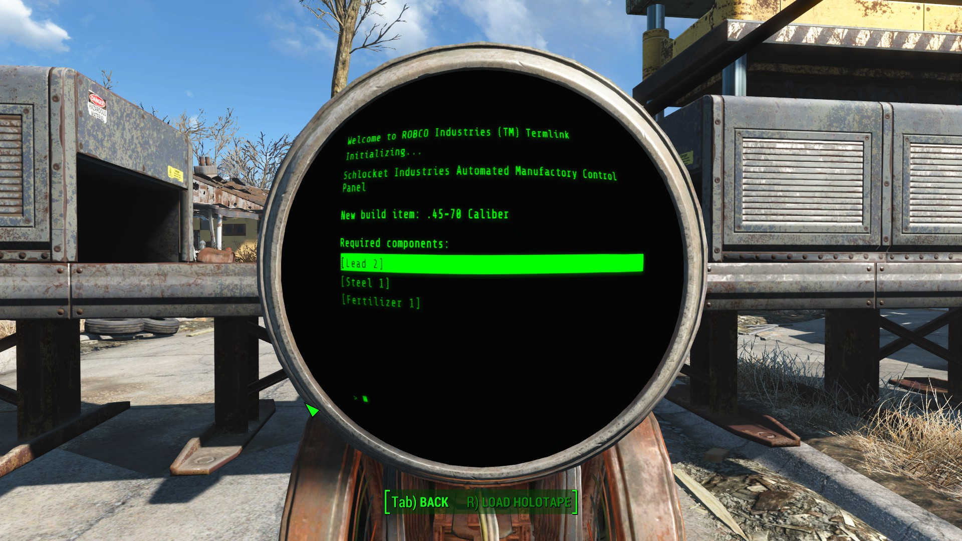 Crafting By Weight At Fallout 4 Nexus Mods And Community