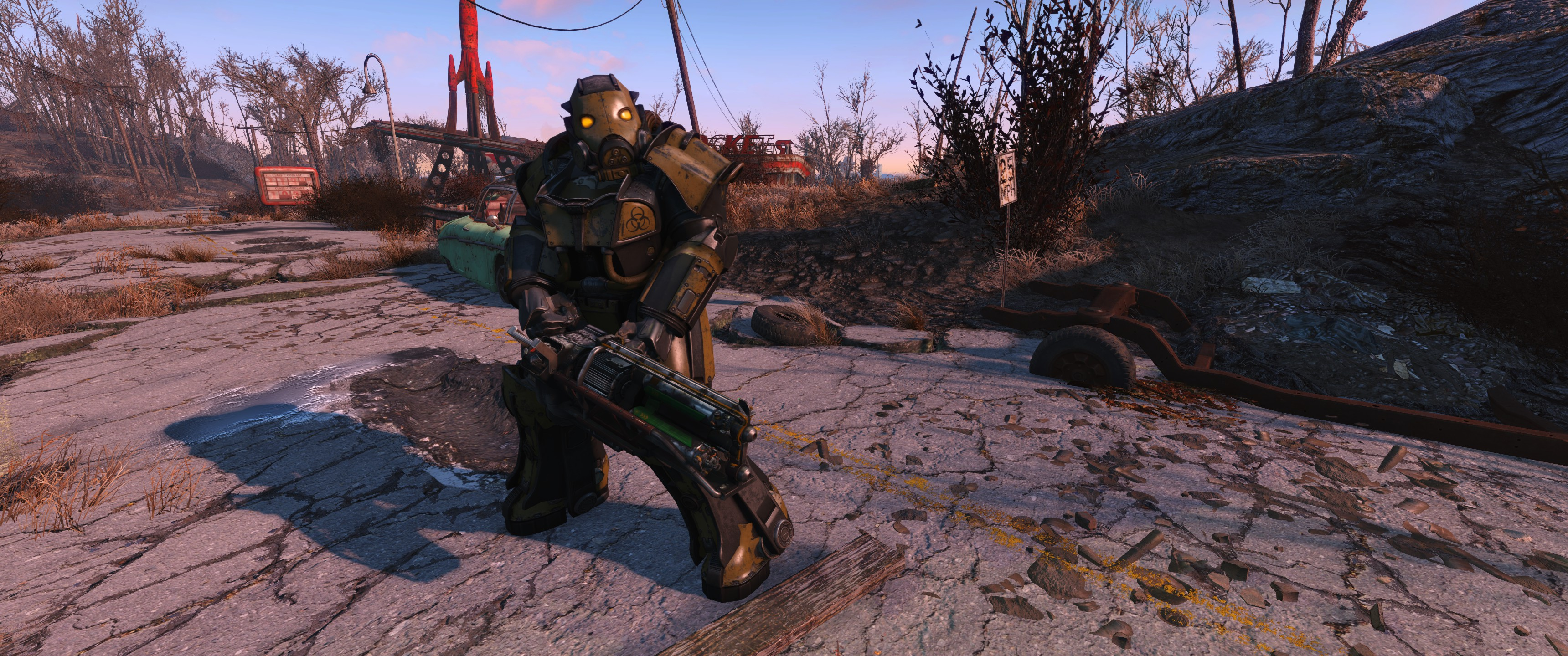 Hellfire X 03 Power Armor At Fallout 4 Nexus Mods And