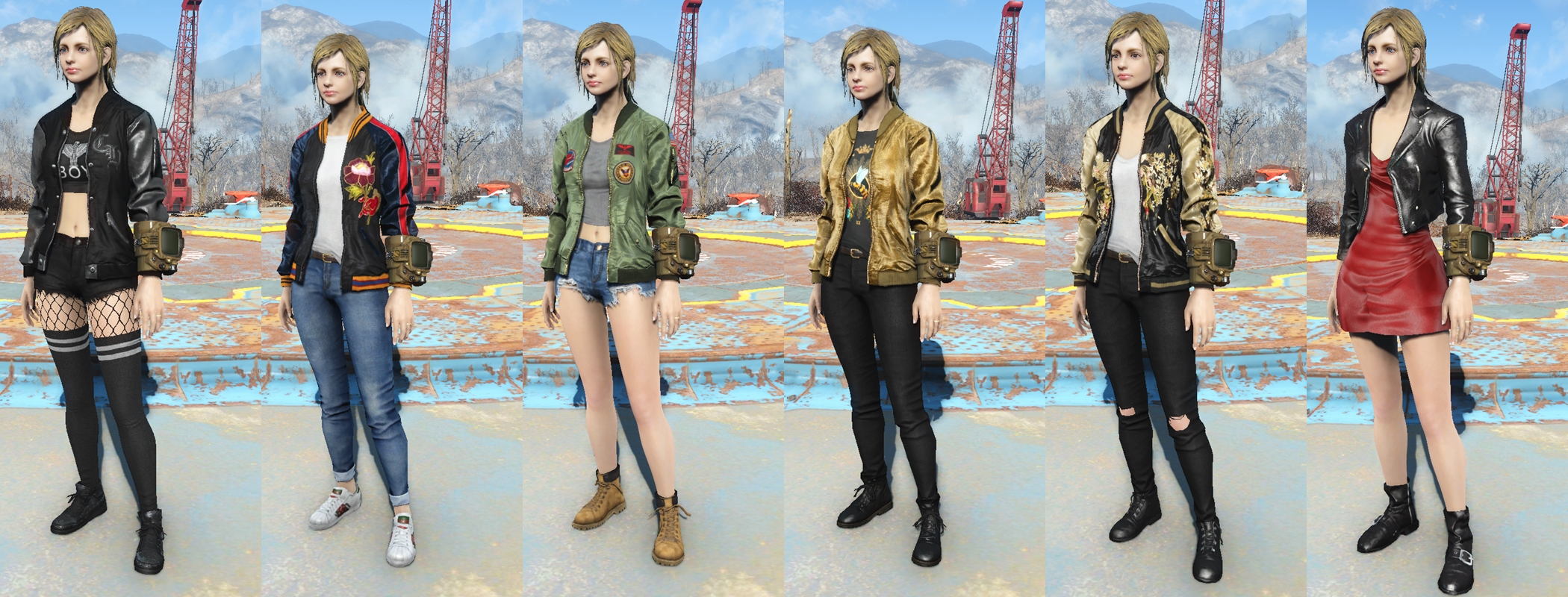 K-Girl outfits at Fallout 4 Nexus - Mods and community