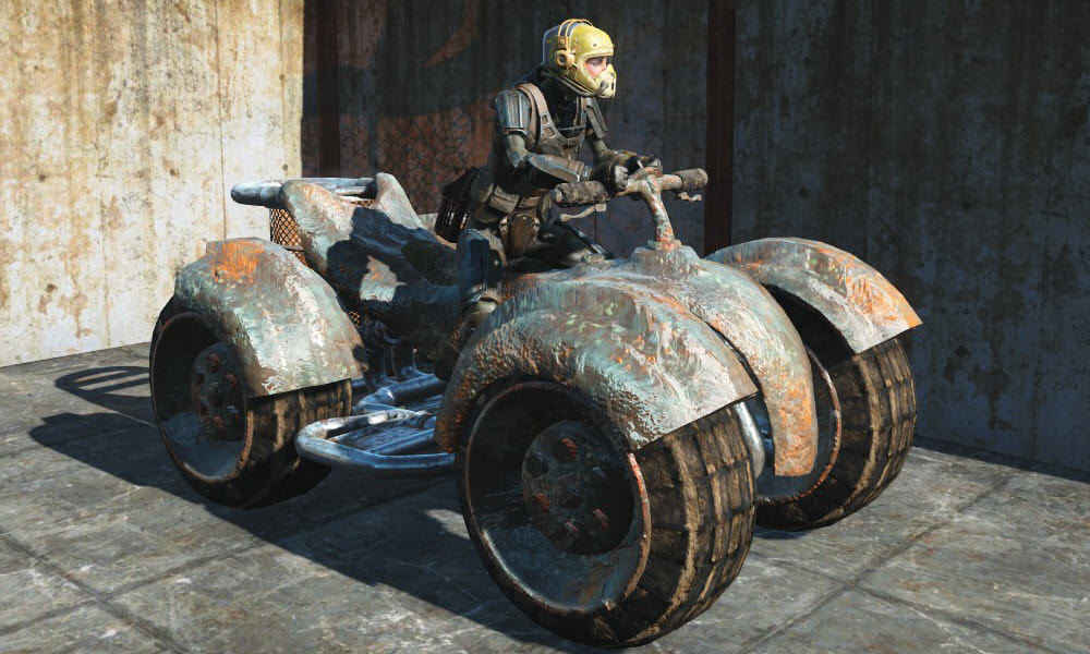 Raider Quad Bike для Fallout 4 - Скриншот 2