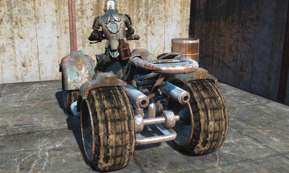 Raider Quad Bike для Fallout 4 - Скриншот 3