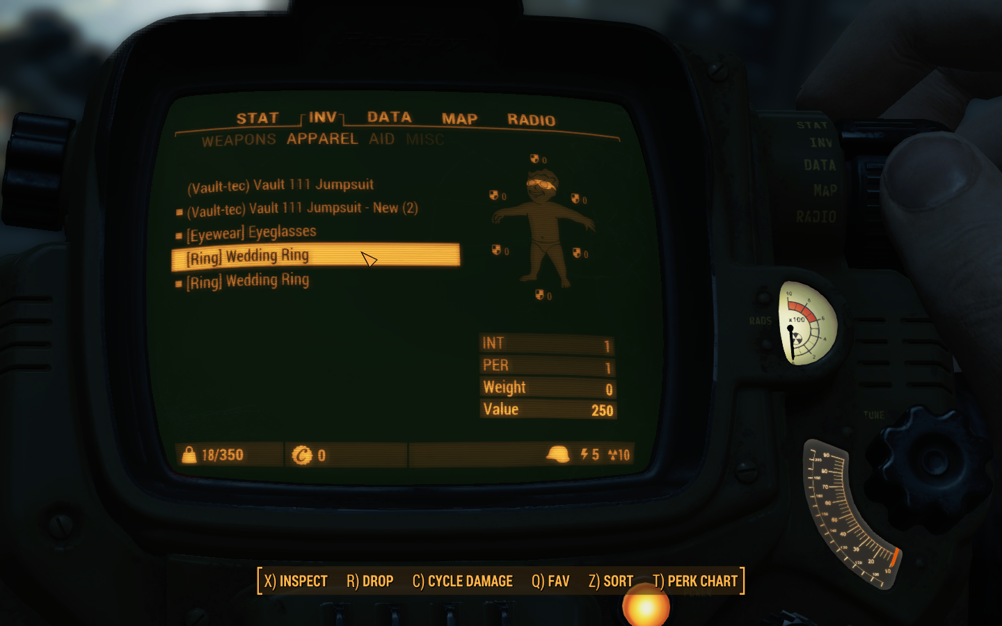 Functional wedding rings at Fallout 4 Nexus Mods and community