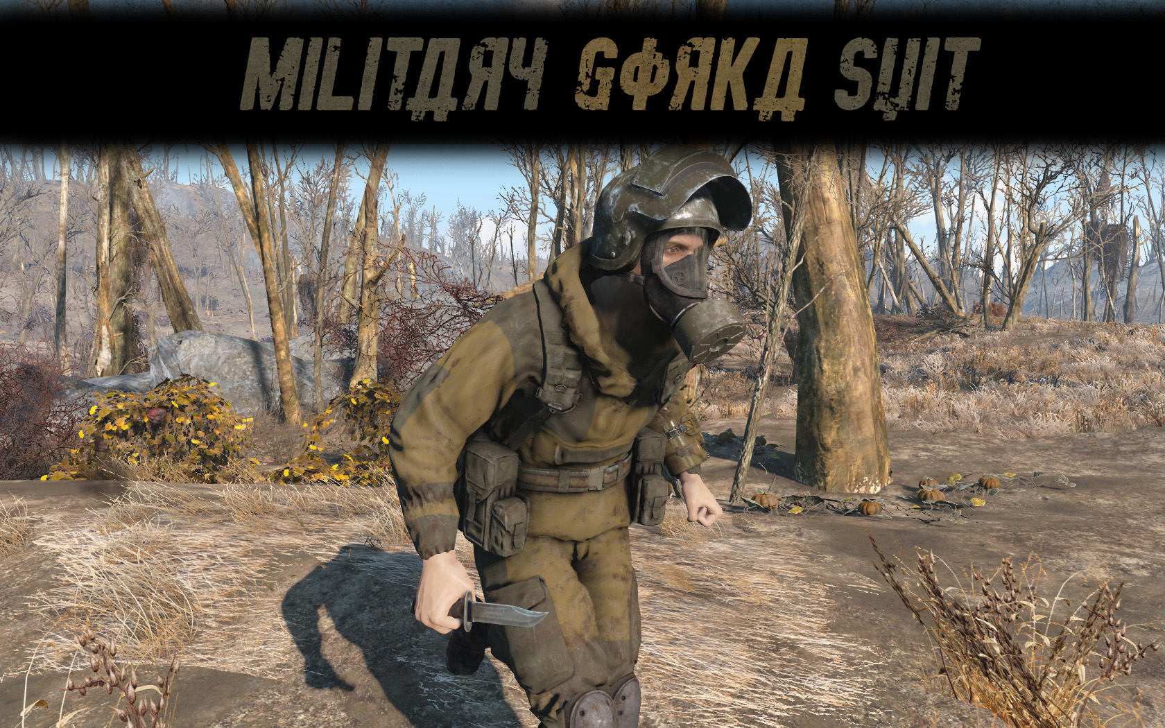 Military Gorka Suit at Fallout 4 Nexus - Mods and community
