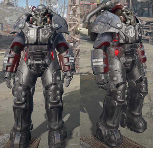 Fallout  All Power Armor Paint Jobs