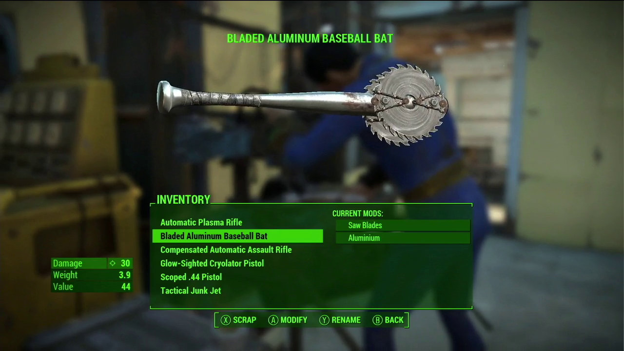 Fallout  Crafting Bug