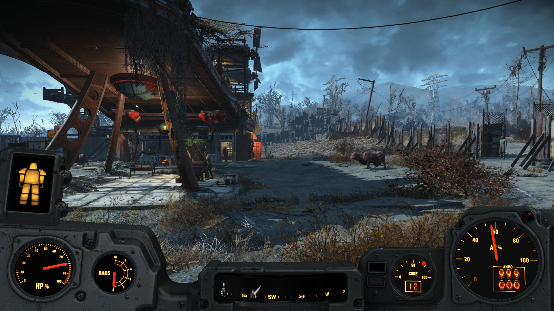 Power Armor Hud - No Transparency at Fallout 4 Nexus - Mods