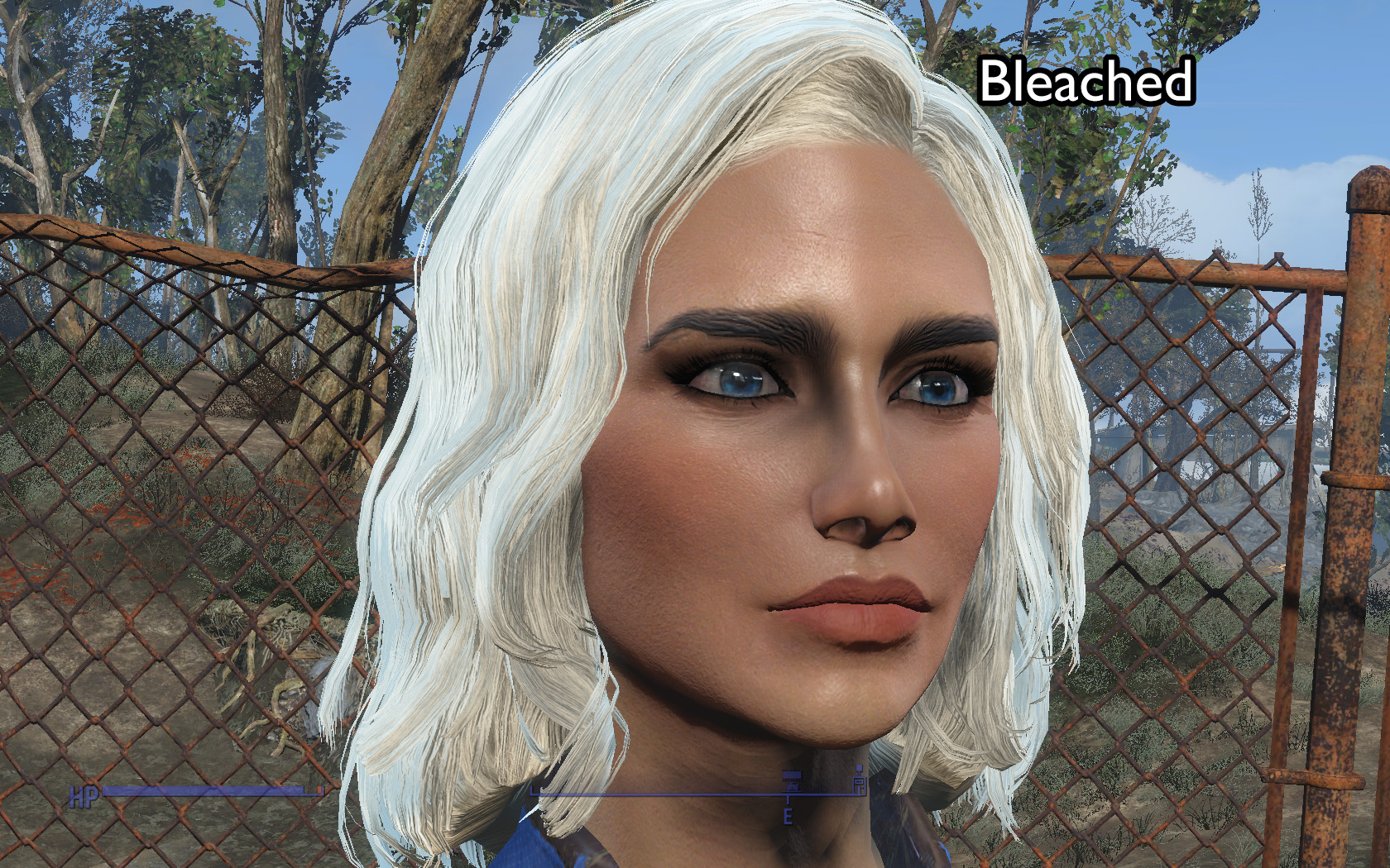 Hair Mod Blonde Hair With Dark Eyebrows At Fallout 4 Nexus Mods