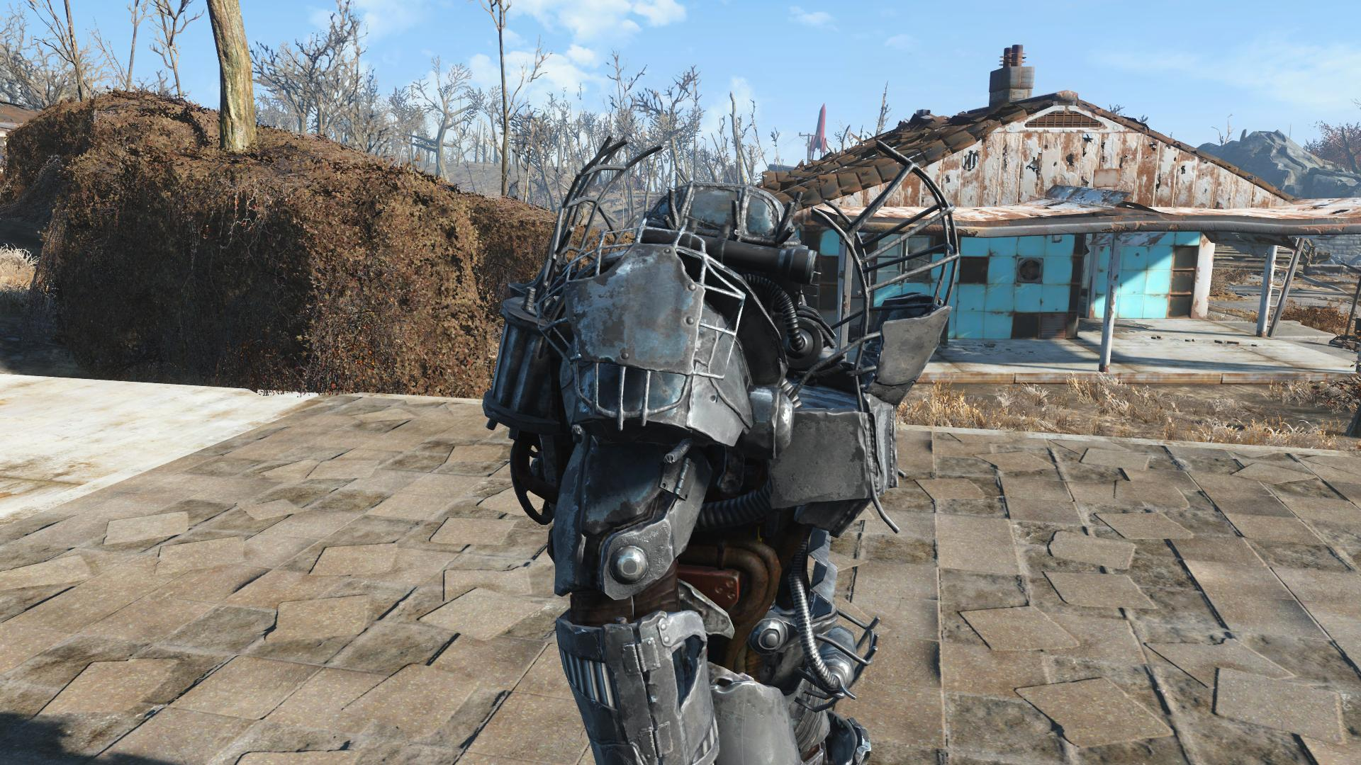 steel raider power armor at fallout 4 nexus mods and community