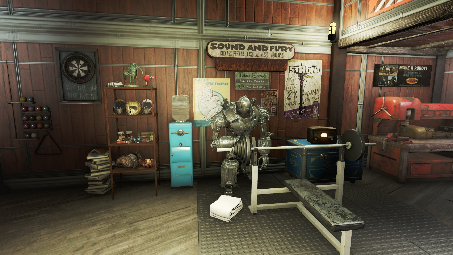 Rsrs home plate hangout blueprint at fallout 4 nexus mods and living room 3 pumping iron malvernweather Choice Image