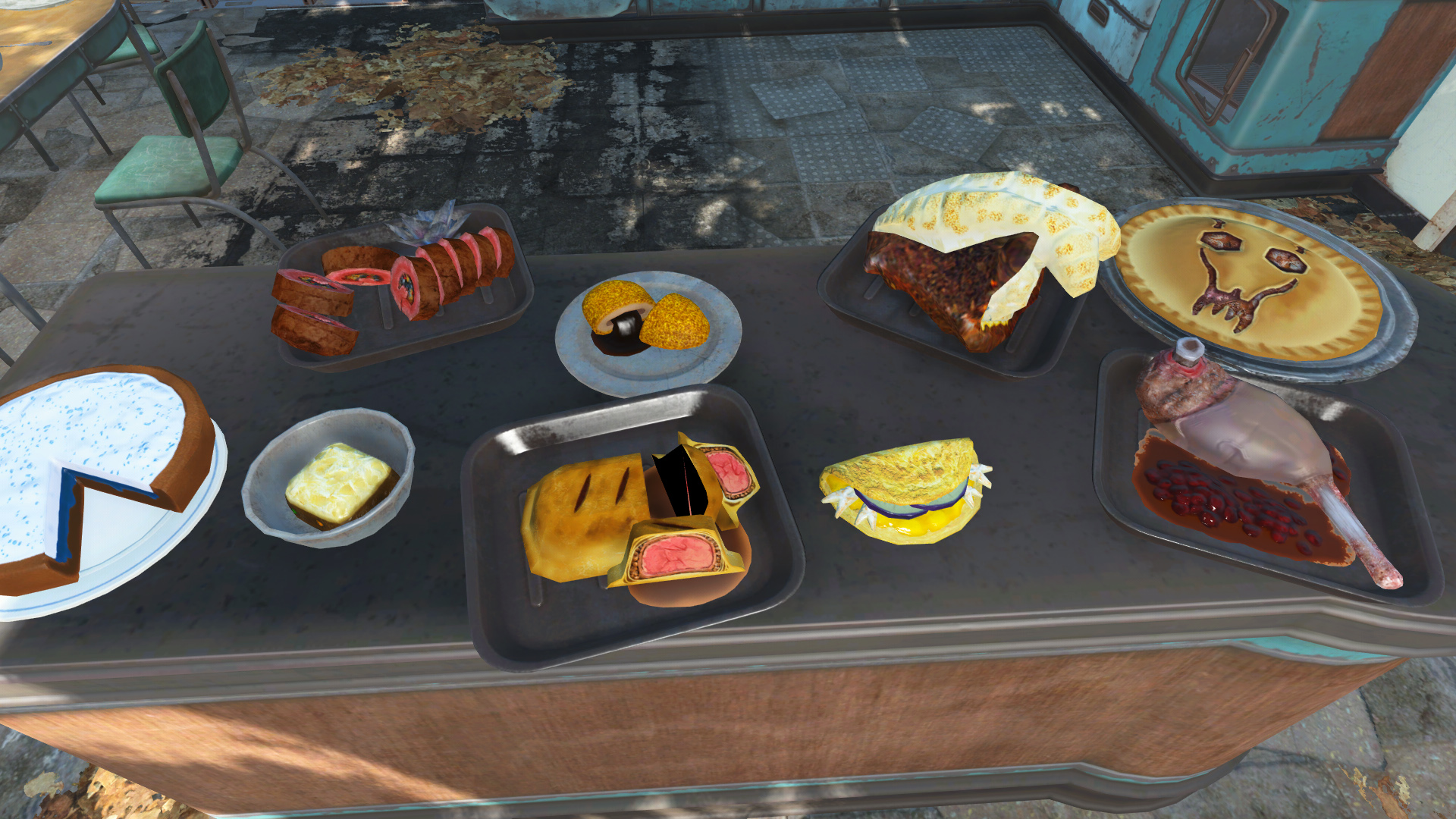 Chef Cooking Hunger And Expanded Food At Fallout 4 Nexus